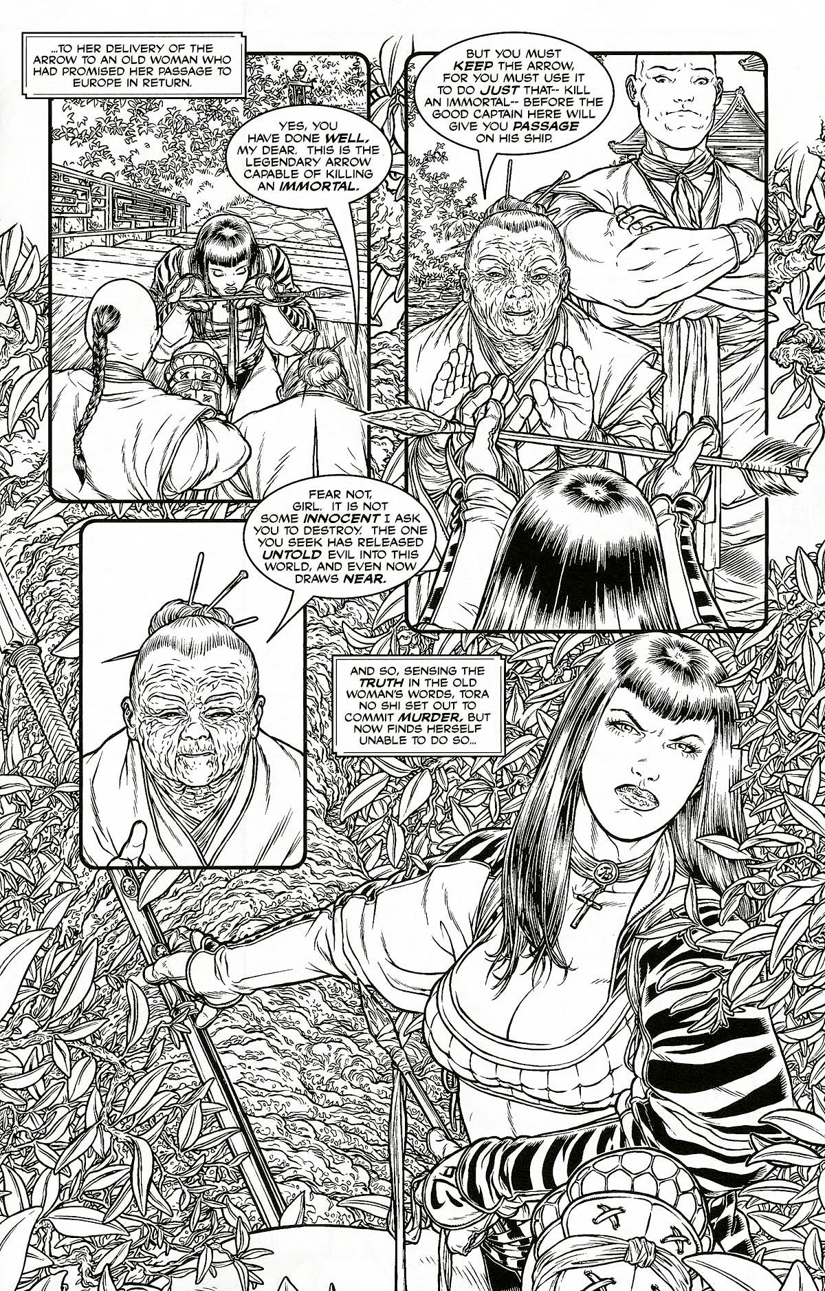 Read online Shi: Pandora's Box comic -  Issue #1 - 5