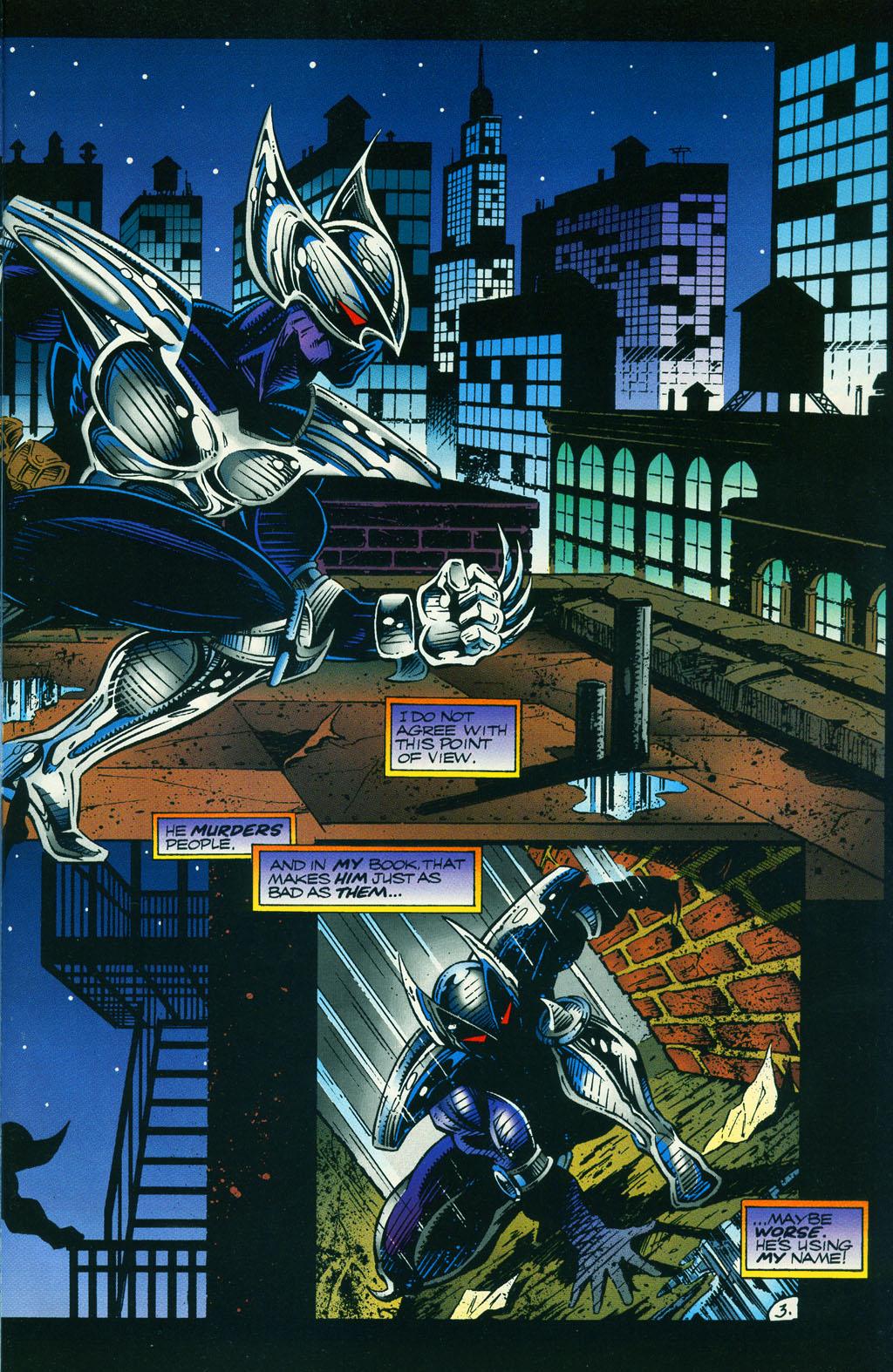 Read online ShadowHawk comic -  Issue #5 - 7