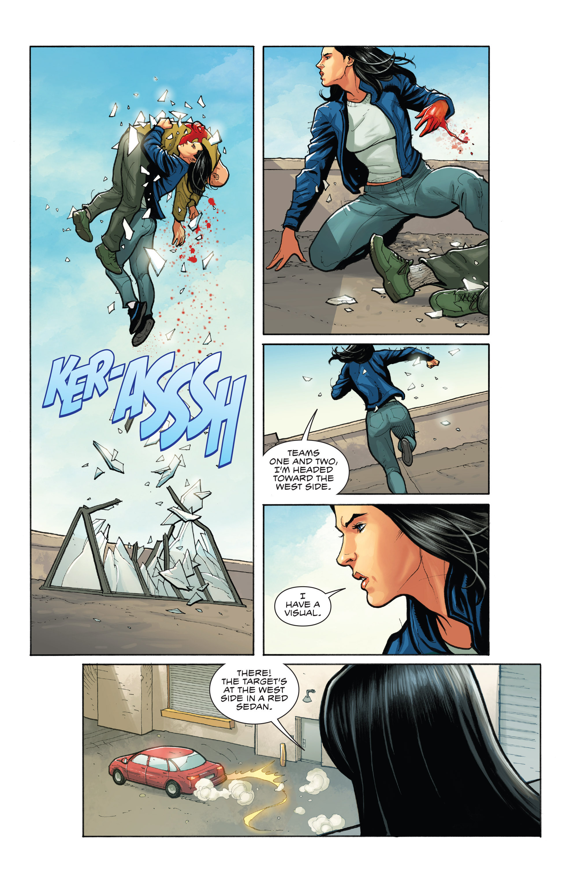 Read online Skybourne comic -  Issue #1 - 14
