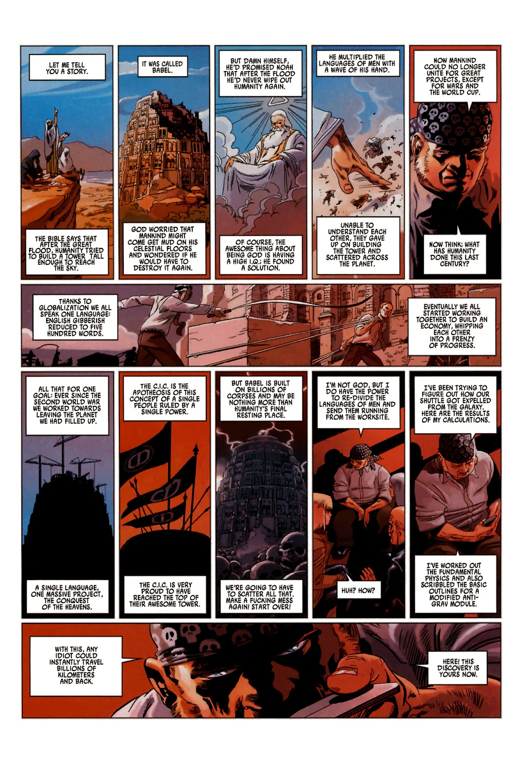 Read online Universal War One: Revelations comic -  Issue #2 - 44