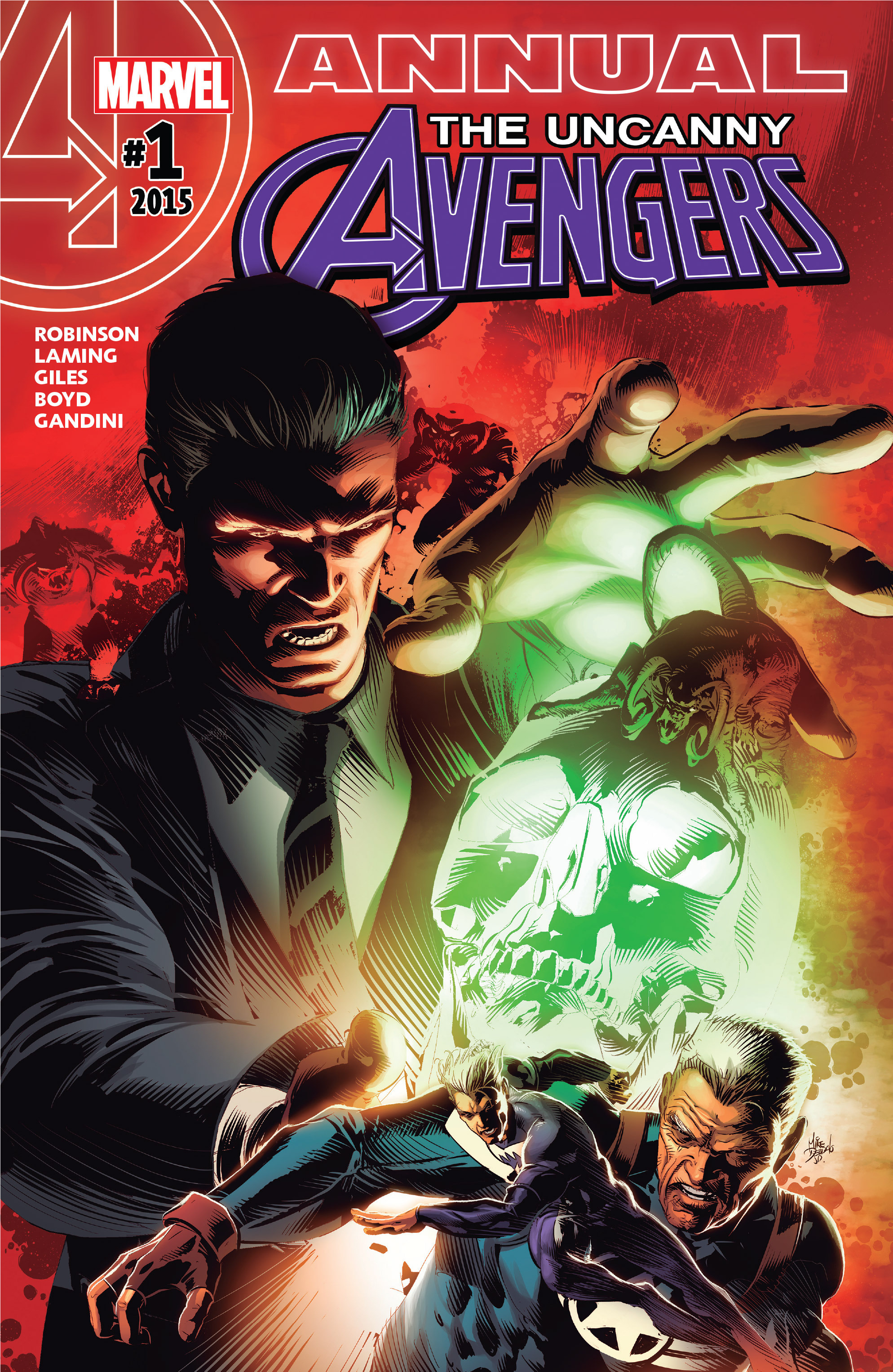Read online Uncanny Avengers [II] comic -  Issue # _Annual 1 - 1