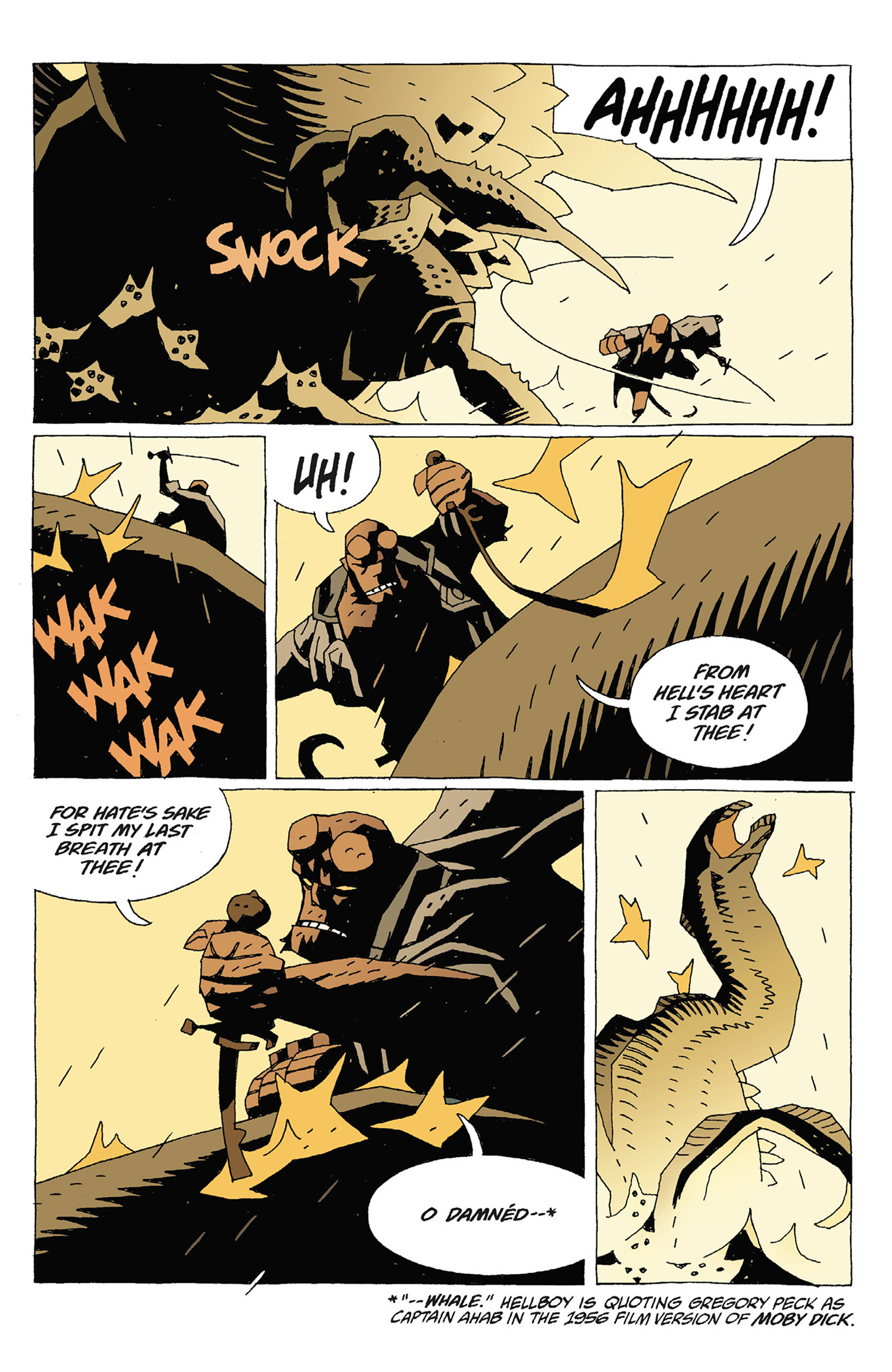 Read online Hellboy: Strange Places comic -  Issue # TPB - 87