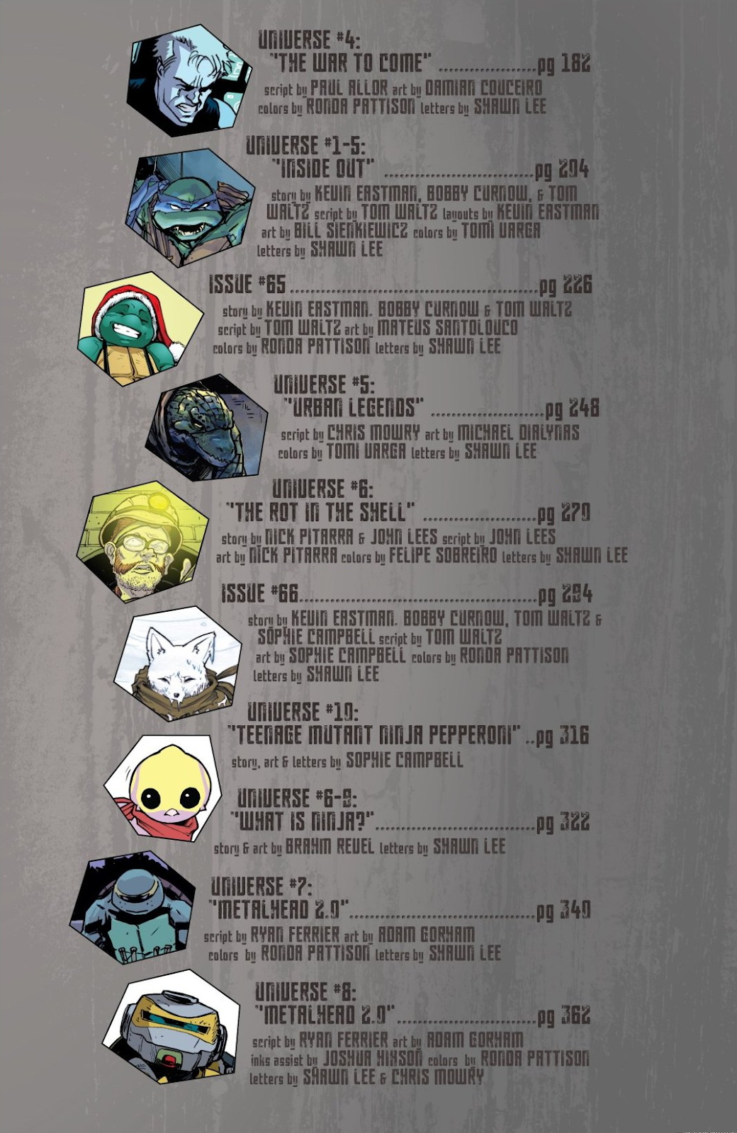 Read online Teenage Mutant Ninja Turtles: The IDW Collection comic -  Issue # TPB 8 (Part 1) - 6