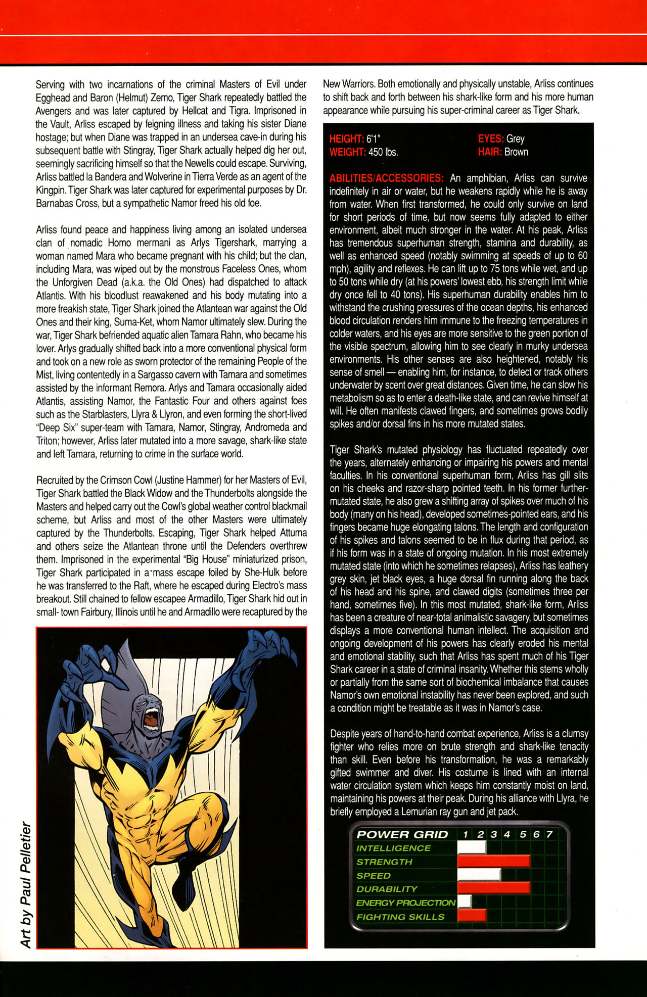 Read online All-New Official Handbook of the Marvel Universe A to Z: Update comic -  Issue #1 - 60