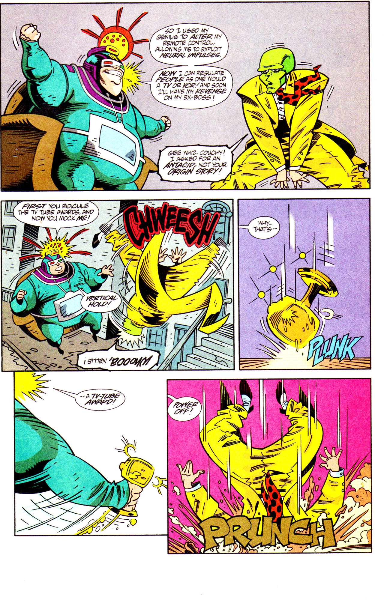 Read online Adventures Of The Mask comic -  Issue #7 - 17