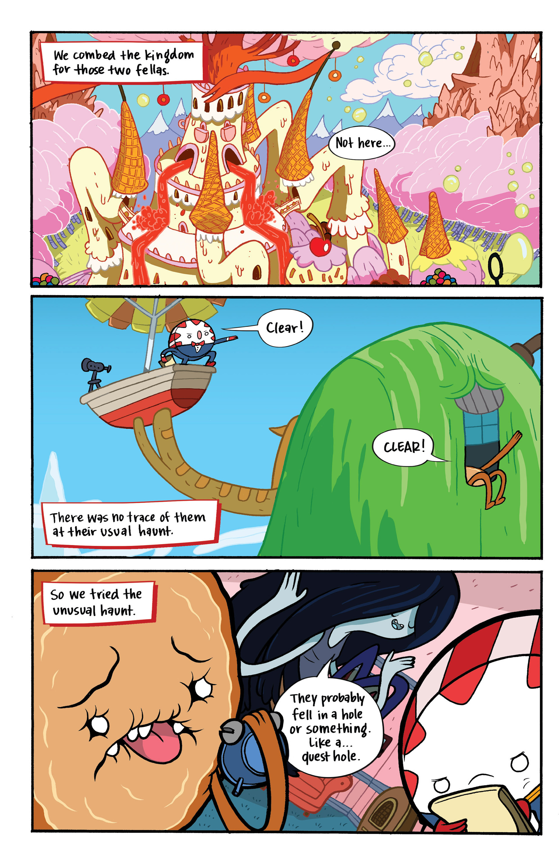 Read online Adventure Time: Candy Capers comic -  Issue #1 - 12
