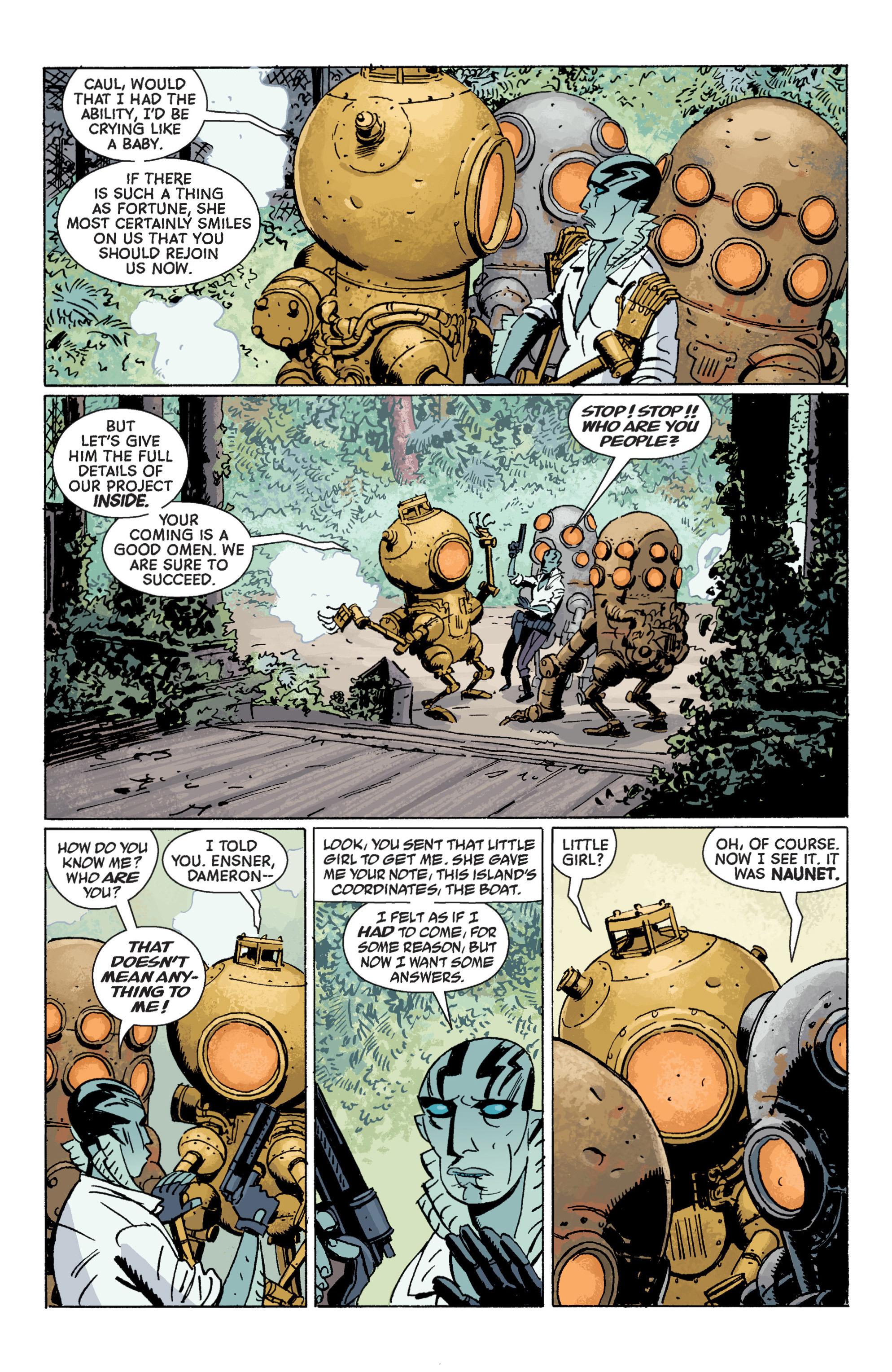 Read online B.P.R.D. (2003) comic -  Issue # TPB 7 - 72