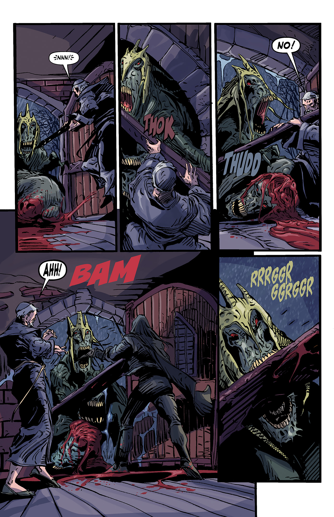 Read online Solomon Kane: Death's Black Riders comic -  Issue #4 - 5