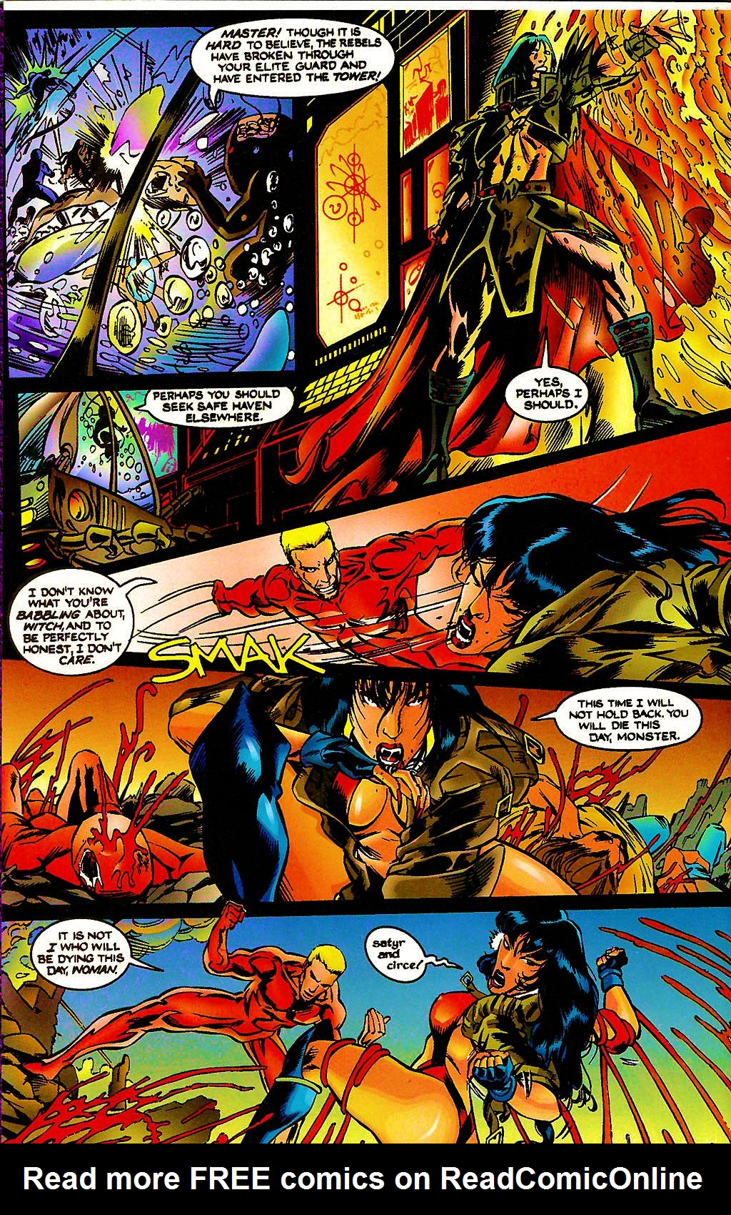 Read online Chains of Chaos comic -  Issue #3 - 16