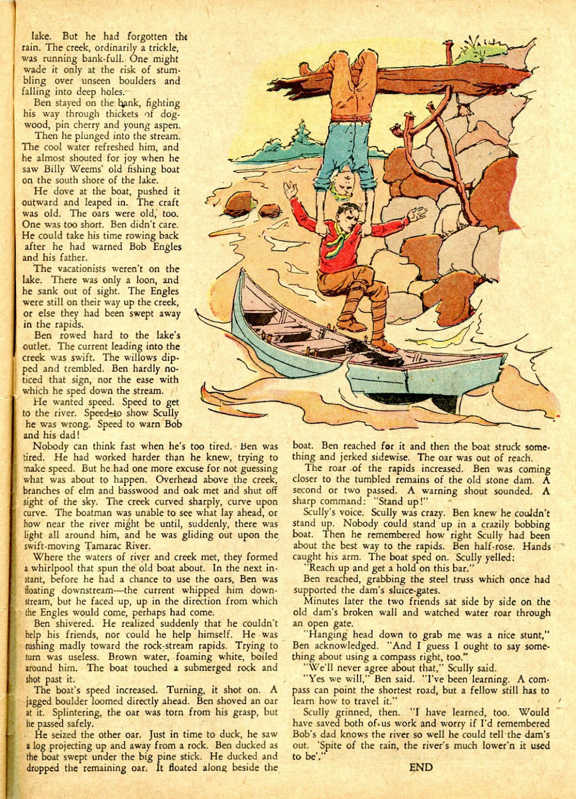 Read online Famous Funnies comic -  Issue #63 - 60