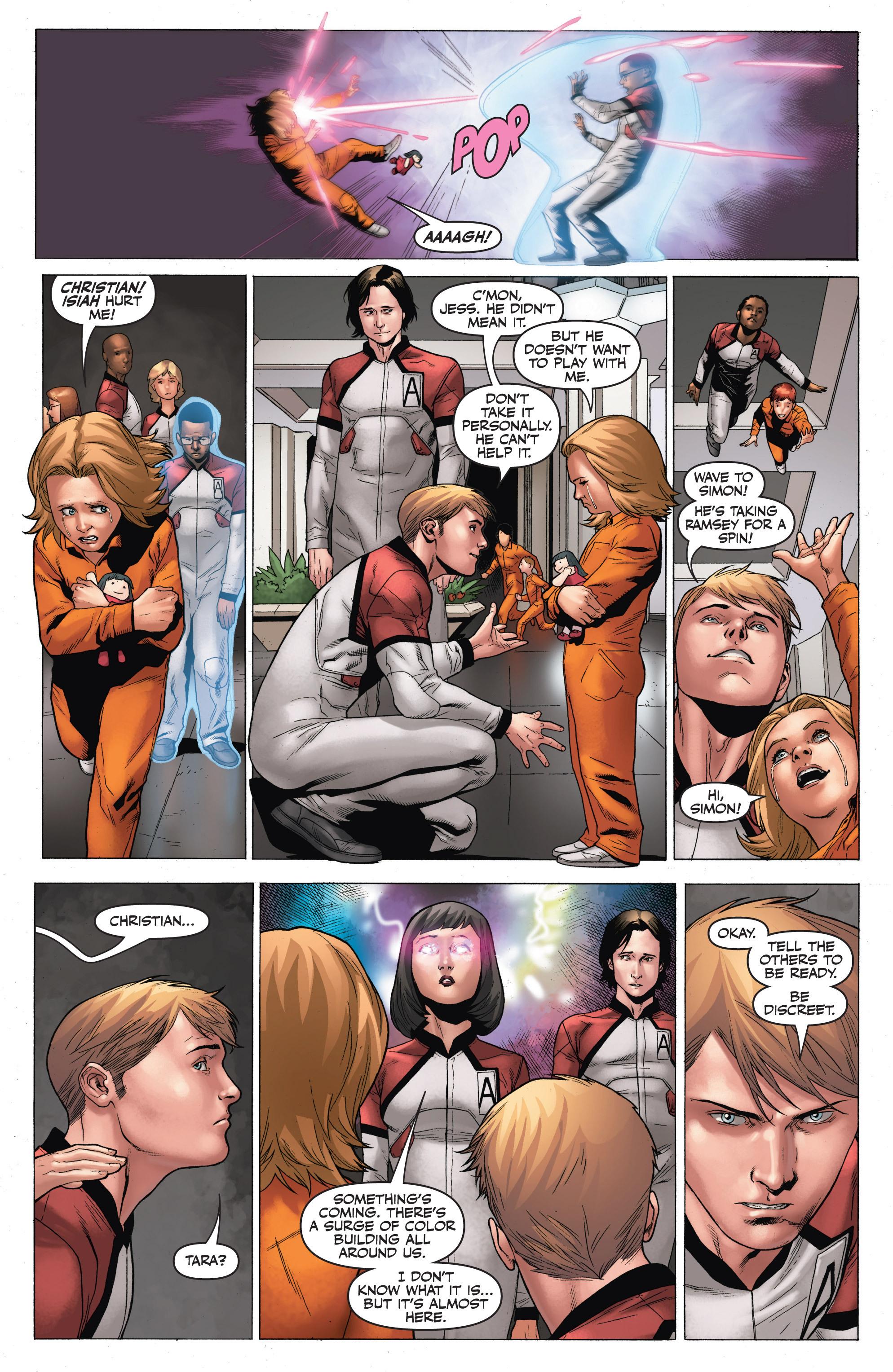 Read online Armor Hunters: Harbinger comic -  Issue # TPB - 96