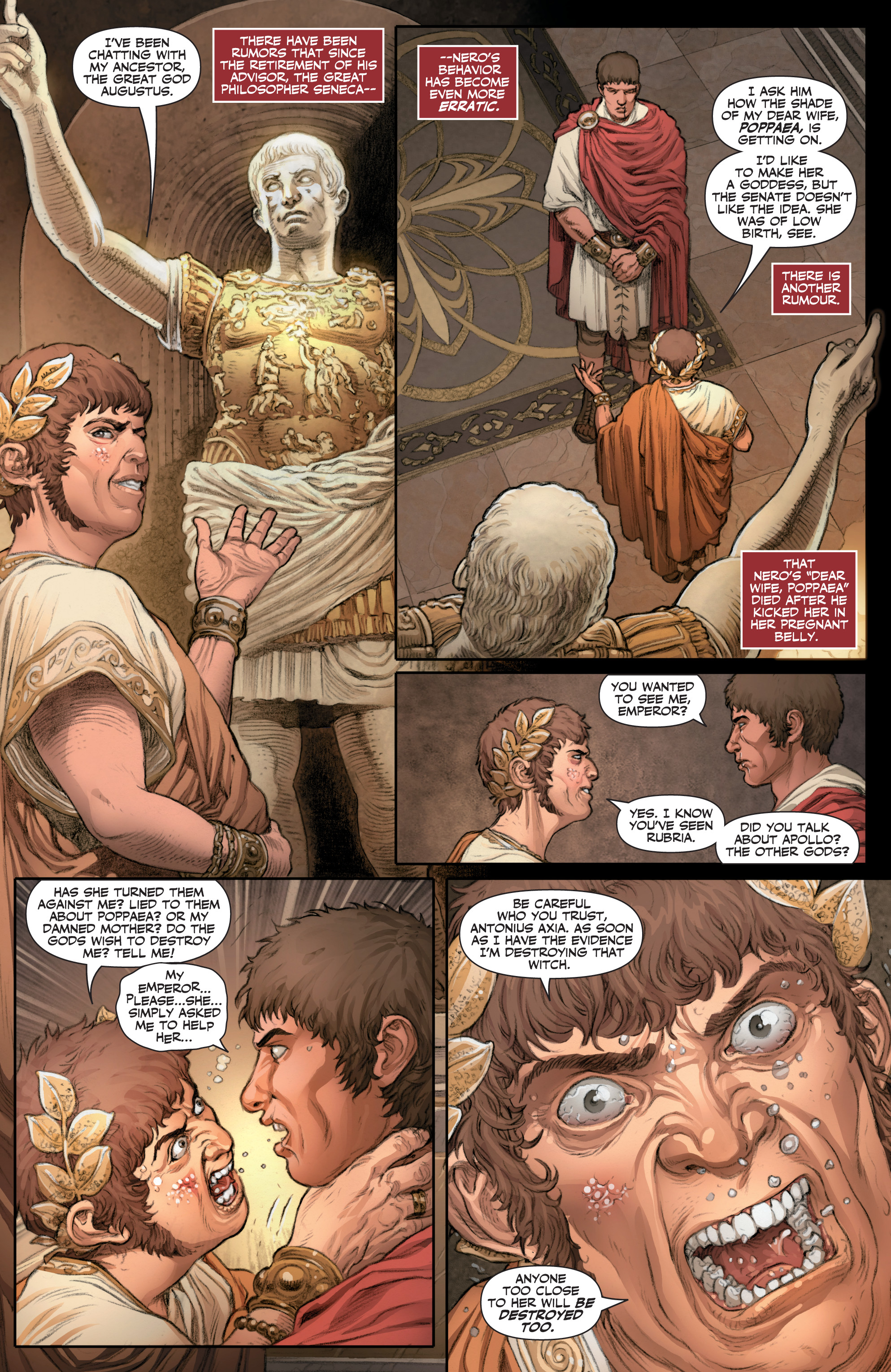 Read online Britannia: We Who Are About To Die comic -  Issue #1 - 19