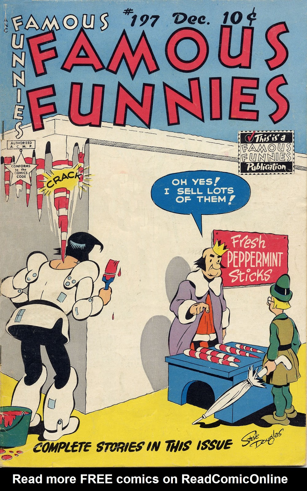 Read online Famous Funnies comic -  Issue #197 - 2