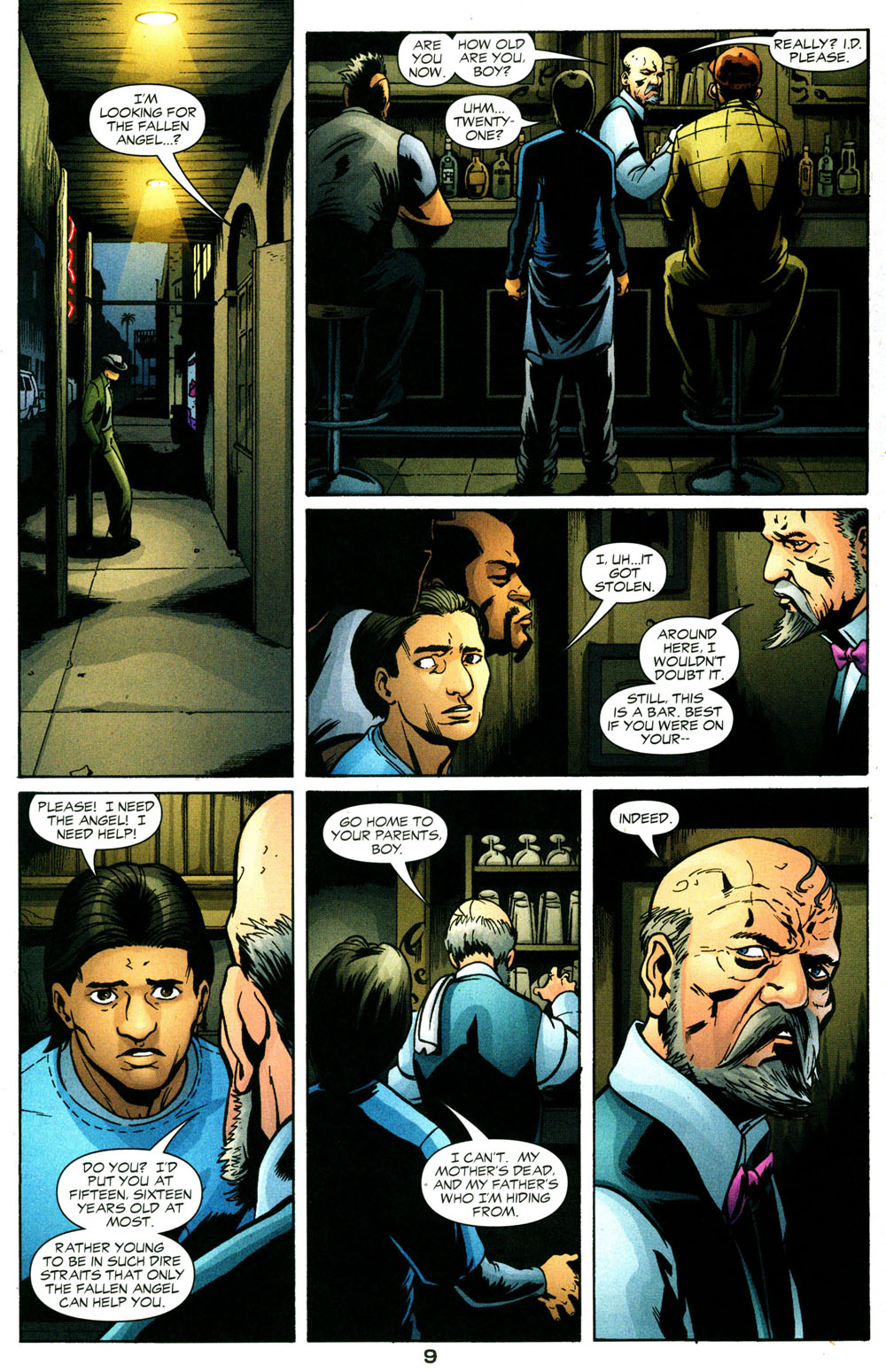 Read online Fallen Angel (2003) comic -  Issue #3 - 10