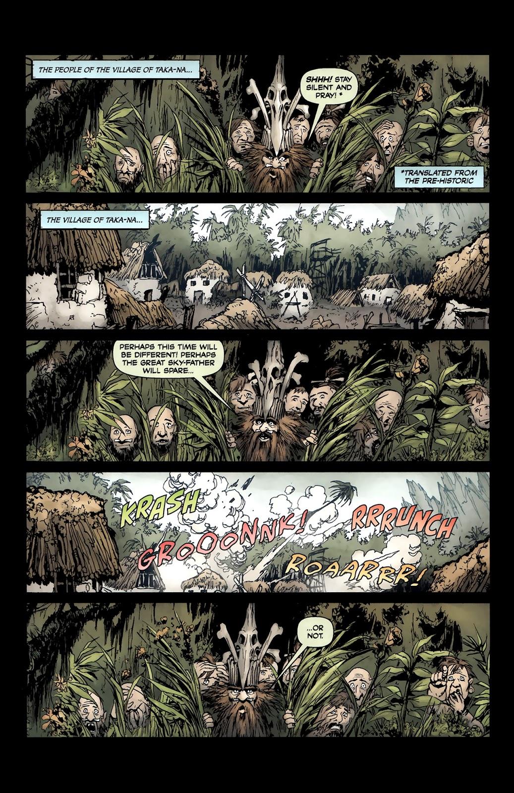 Read online Tyrannosaurus Rex comic -  Issue # Full - 3