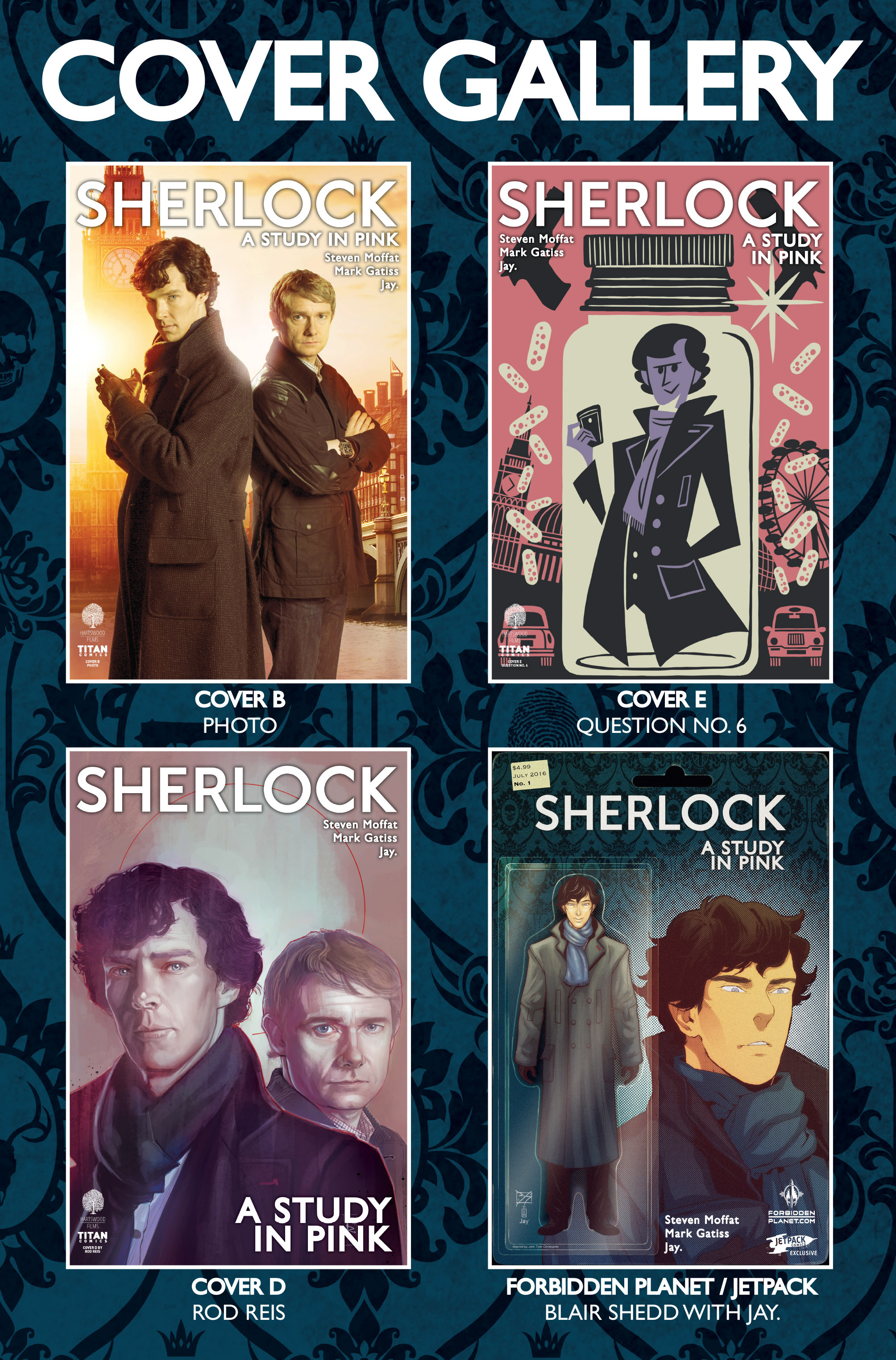 Read online Sherlock: A Study In Pink comic -  Issue #1 - 8