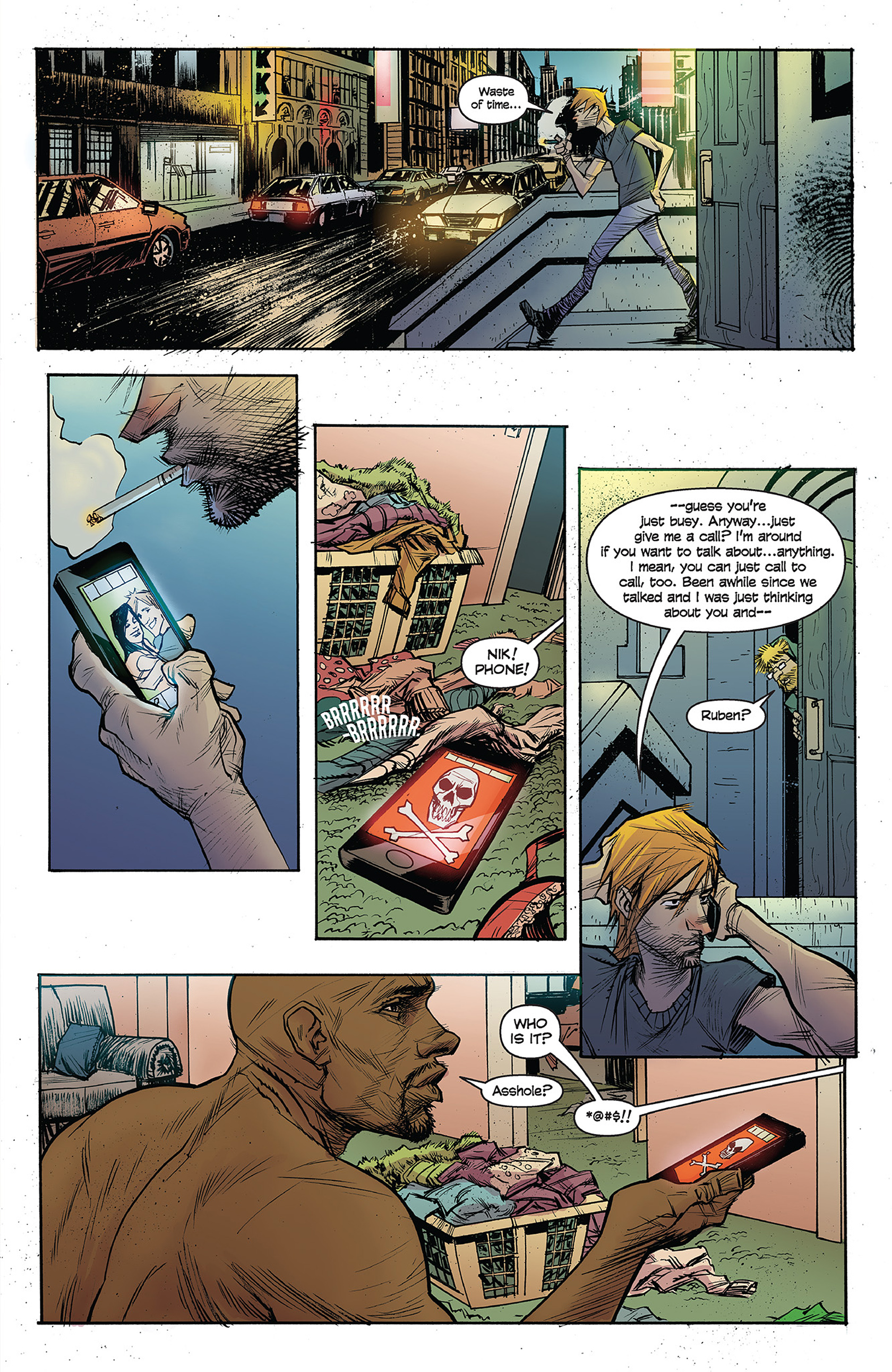 Read online Buzzkill comic -  Issue #1 - 5