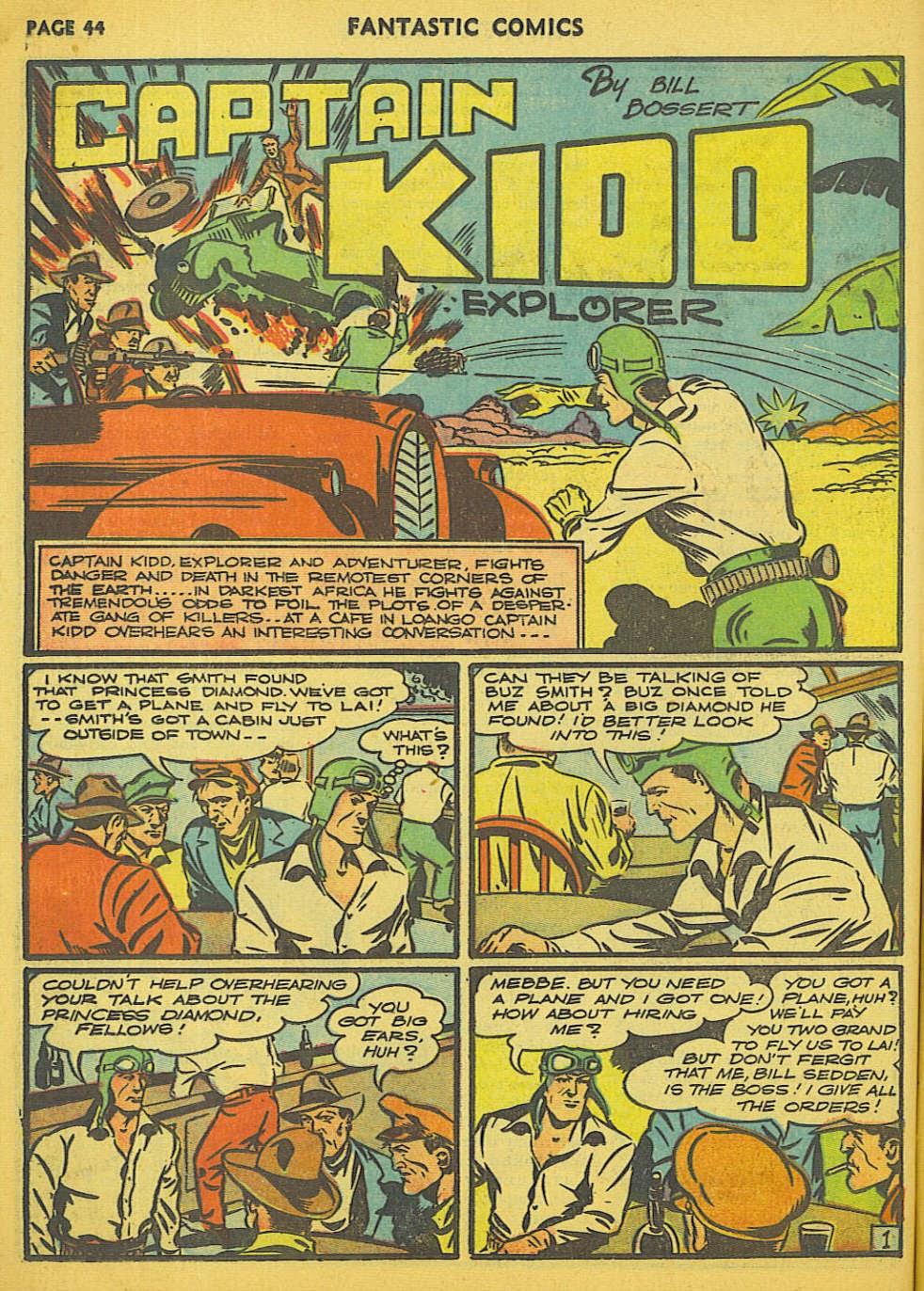Read online Fantastic Comics comic -  Issue #15 - 38