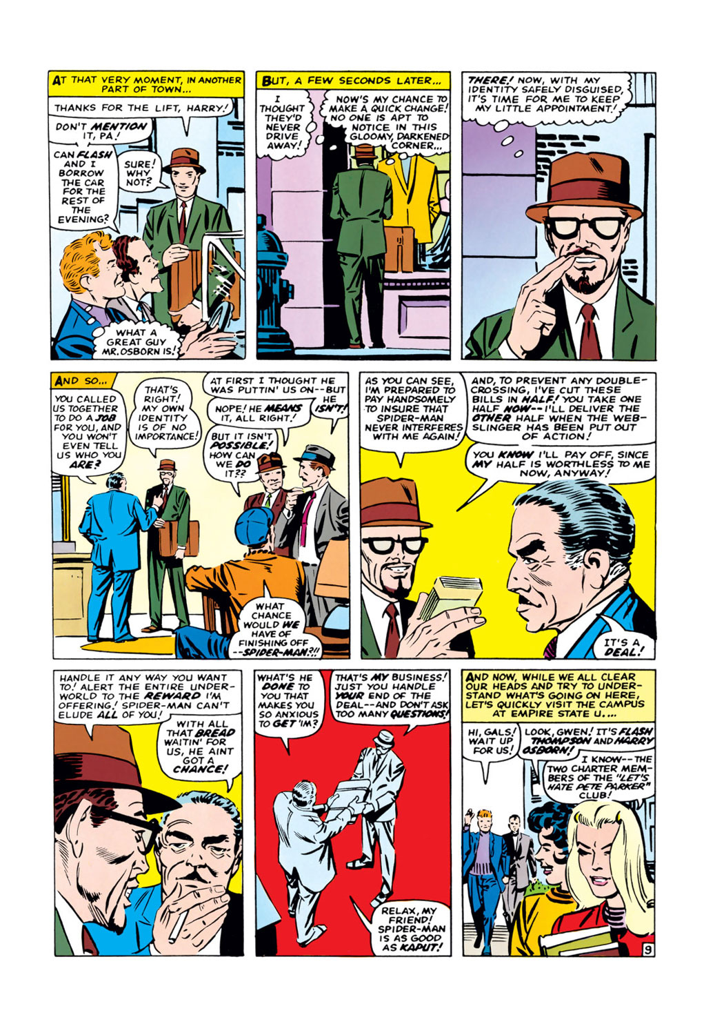The Amazing Spider-Man (1963) 38 Page 9