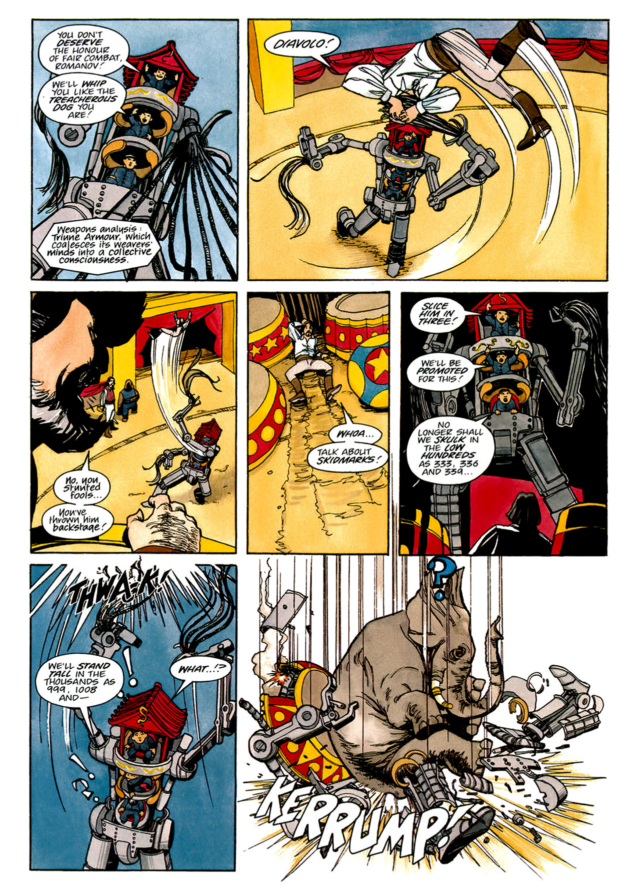 Read online Nikolai Dante comic -  Issue # TPB 1 - 146