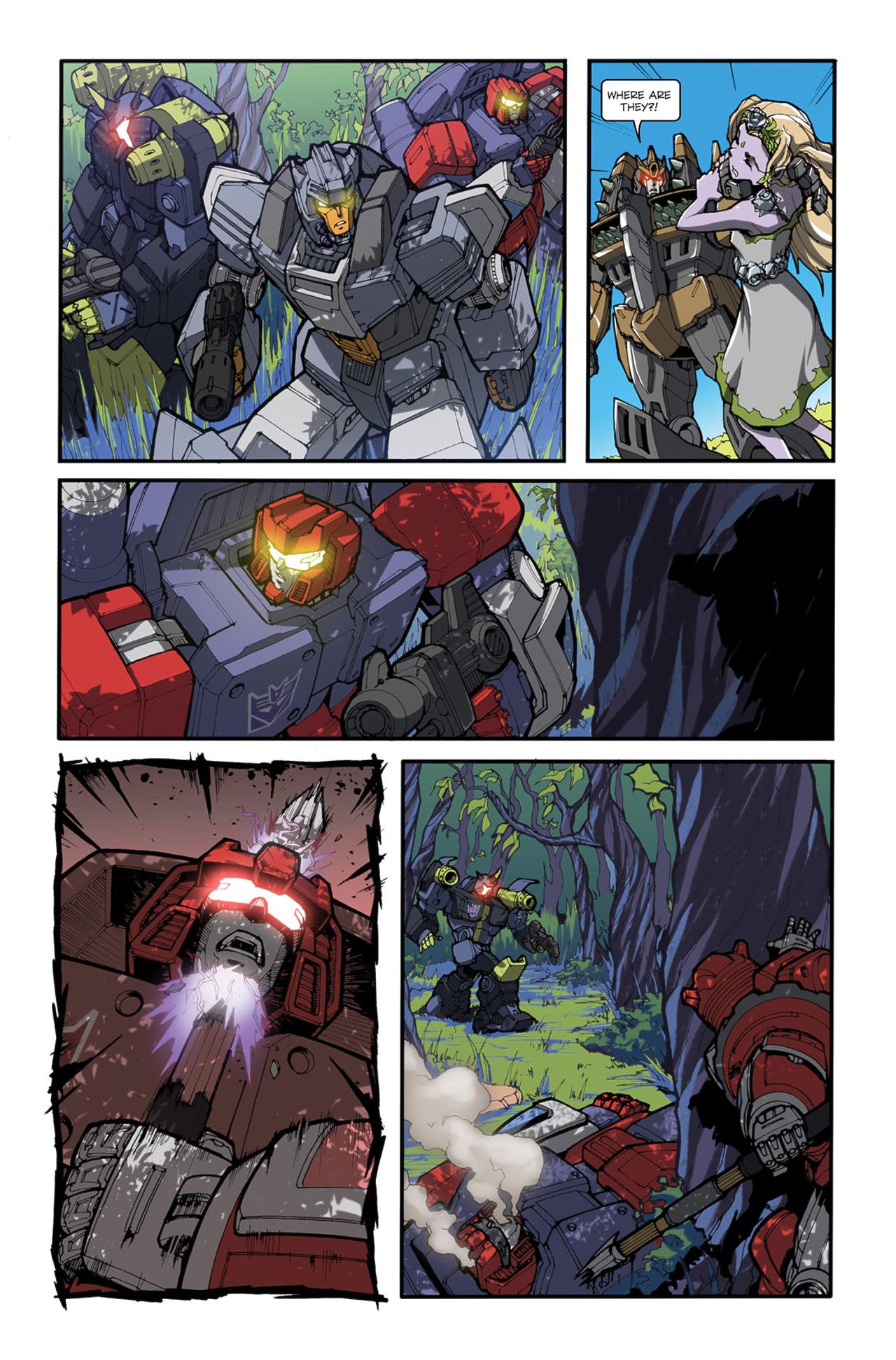 Read online Transformers Spotlight: Cliffjumper comic -  Issue # Full - 16