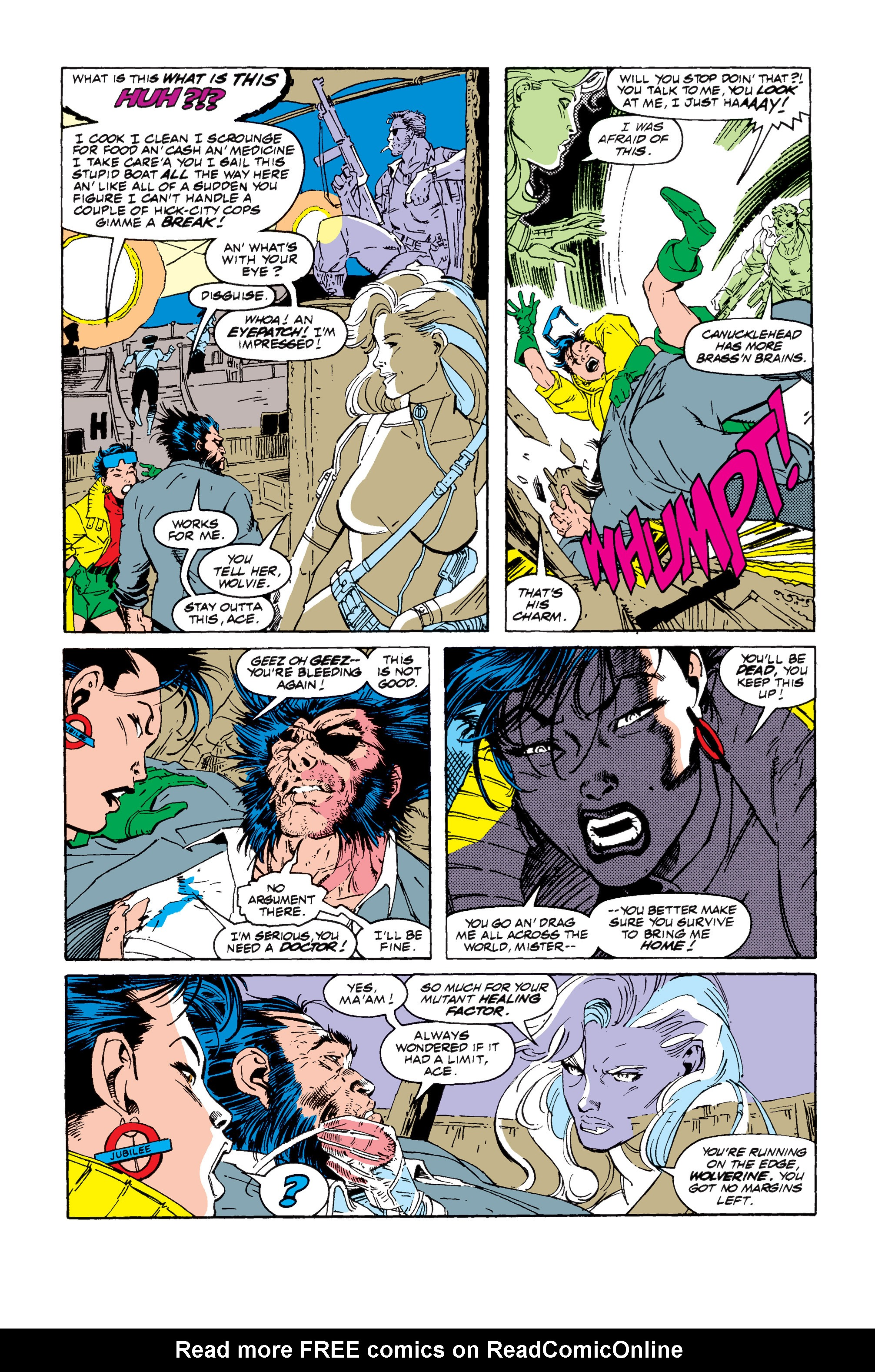 Read online Uncanny X-Men (1963) comic -  Issue #257 - 9