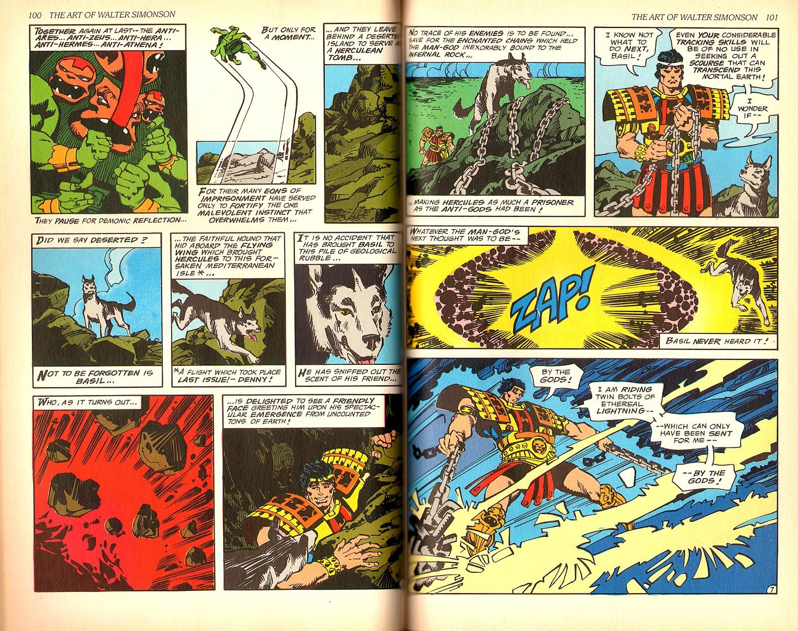 Read online The Art of Walter Simonson comic -  Issue # TPB - 52