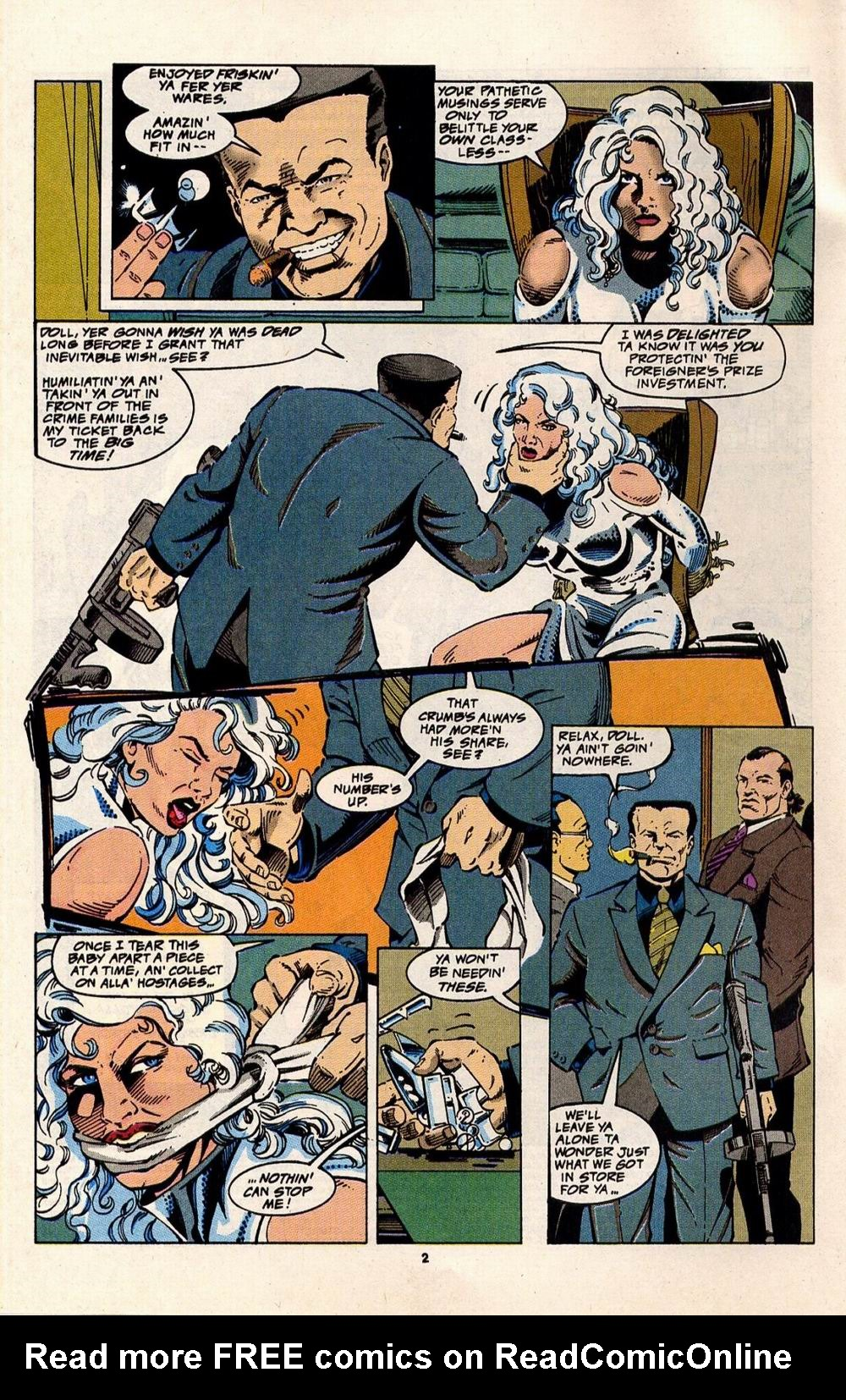 Read online Silver Sable and the Wild Pack comic -  Issue #32 - 3