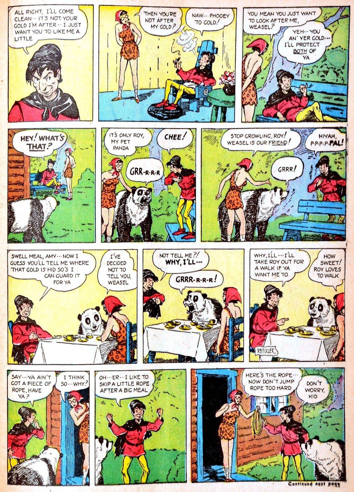 Read online Famous Funnies comic -  Issue #88 - 38