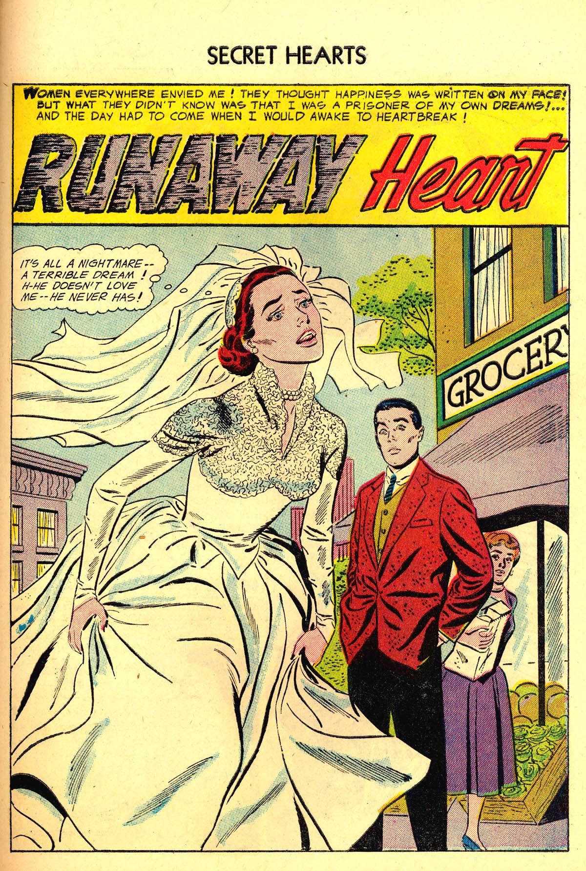 Read online Secret Hearts comic -  Issue #34 - 27