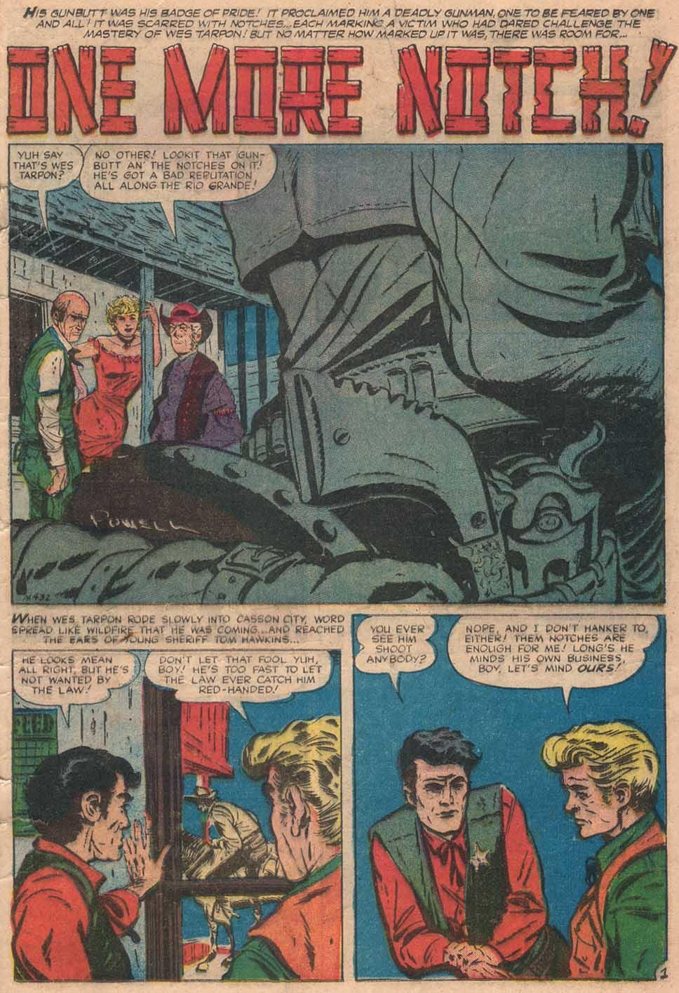 Read online Two-Gun Kid comic -  Issue #38 - 21