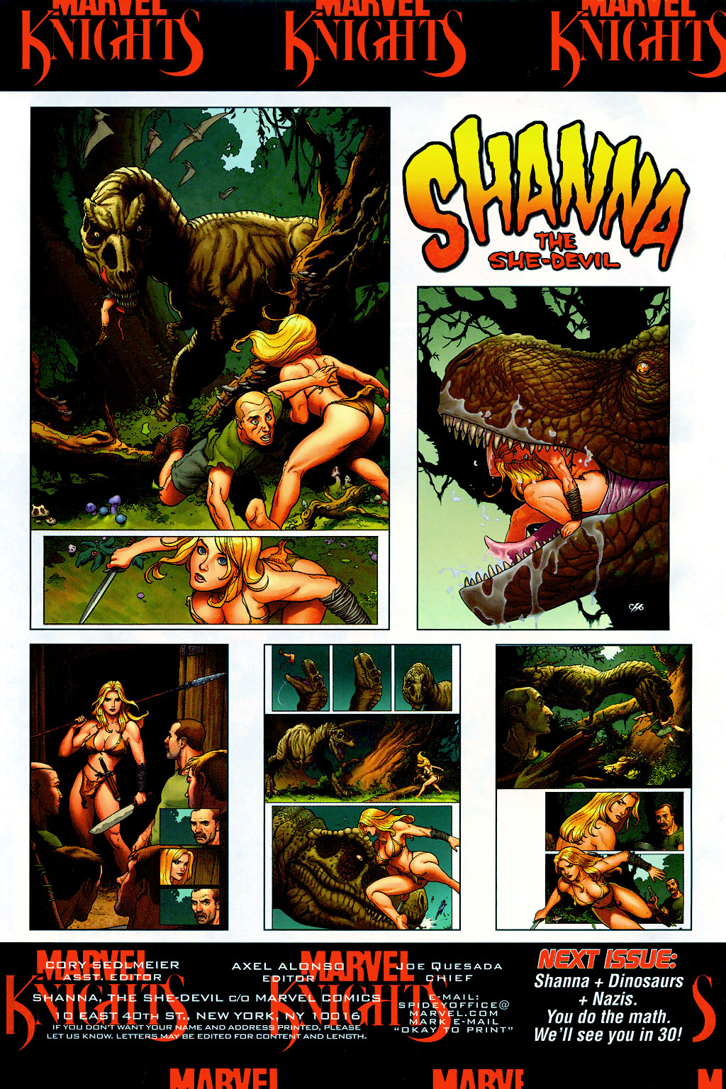 Read online Shanna, the She-Devil (2005) comic -  Issue #2 - 23