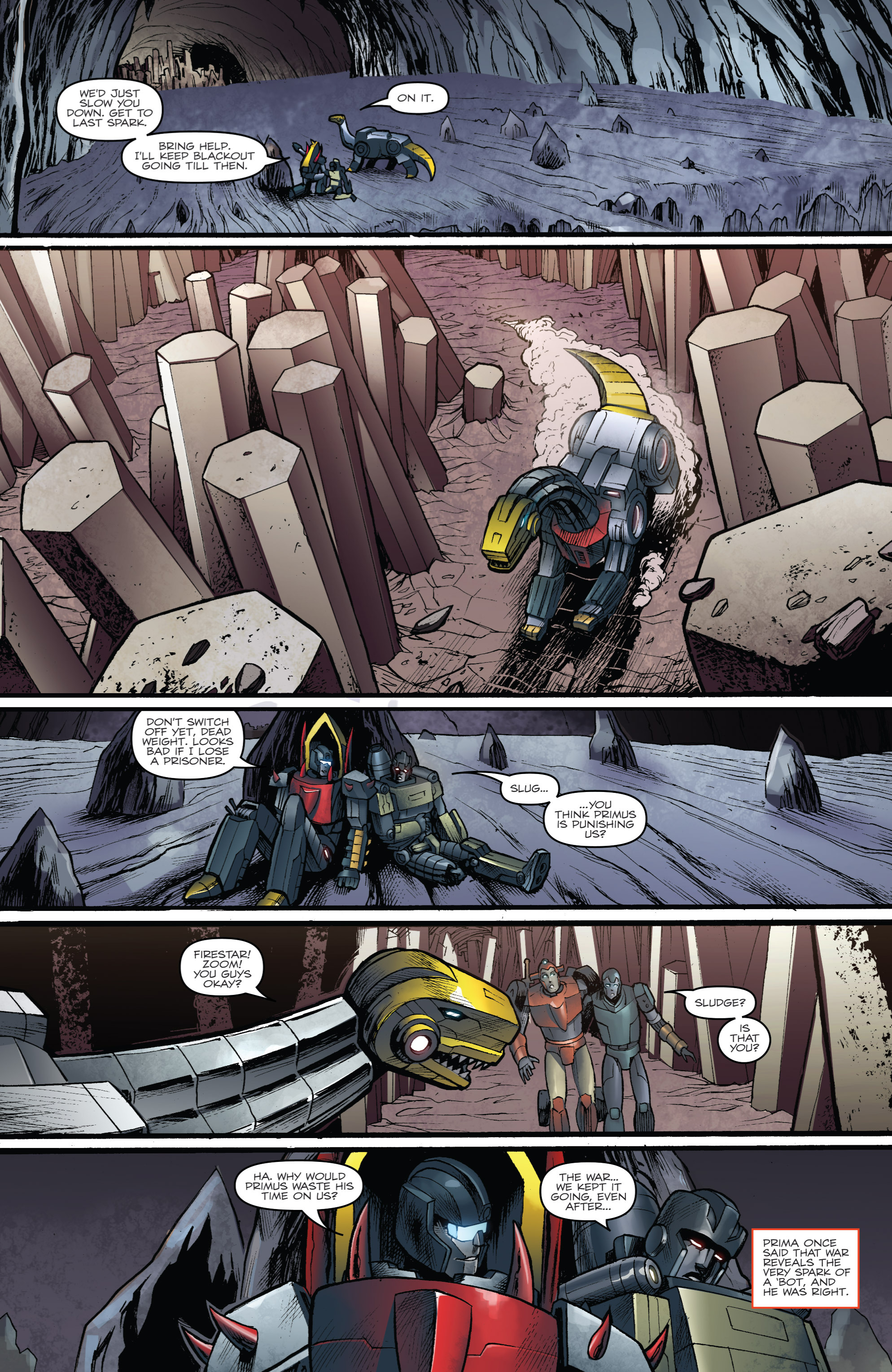 Read online Transformers Prime: Beast Hunters comic -  Issue #6 - 20