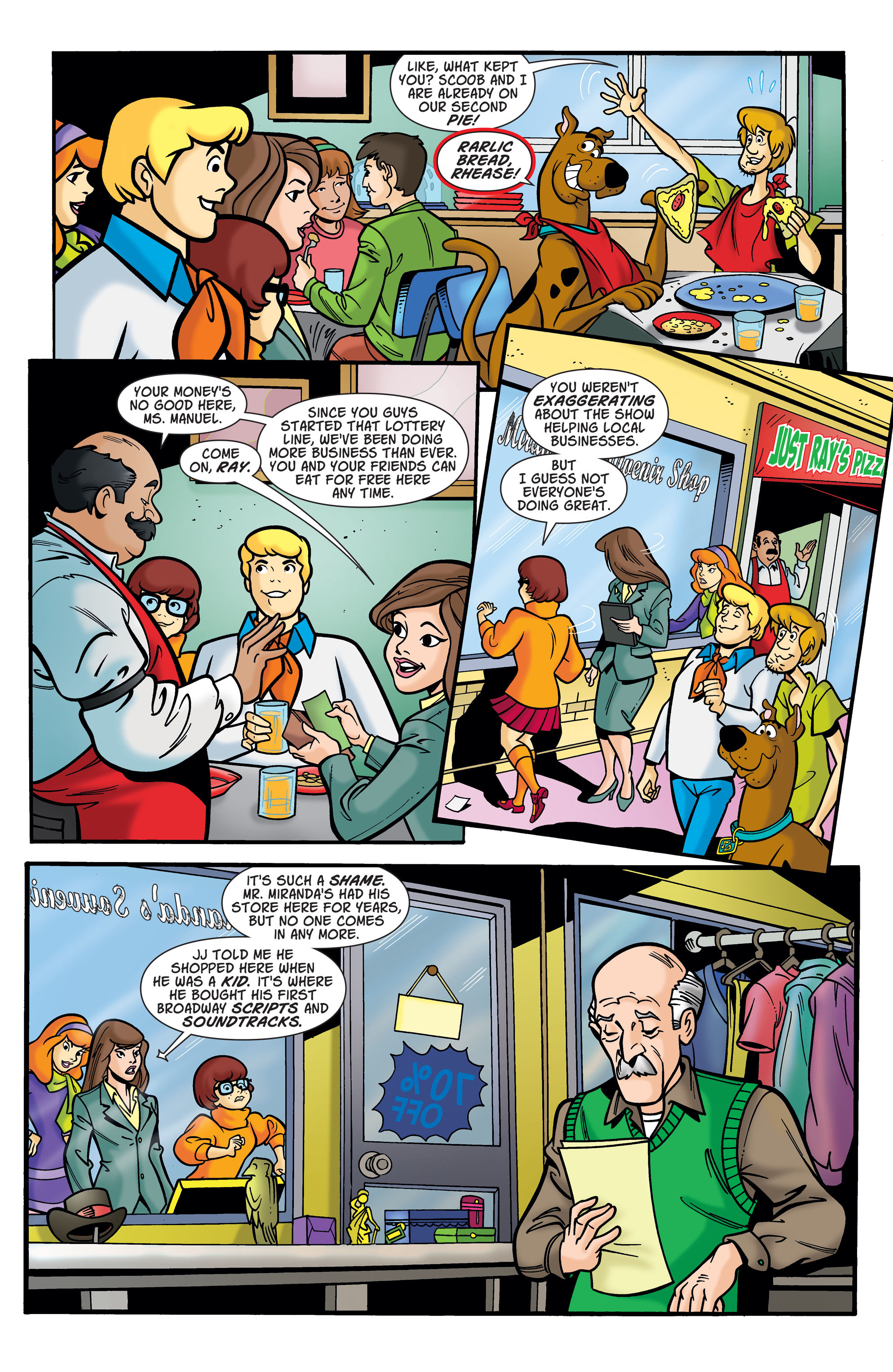 Read online Scooby-Doo: Where Are You? comic -  Issue #74 - 7