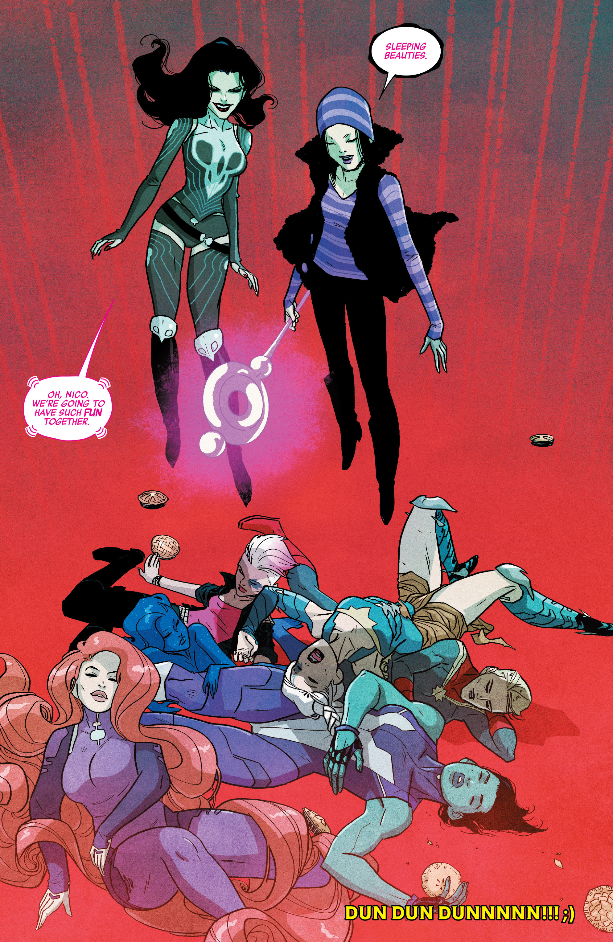Read online A-Force (2016) comic -  Issue #5 - 22