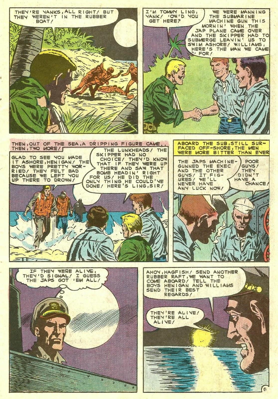 Read online Fightin' Navy comic -  Issue #130 - 9