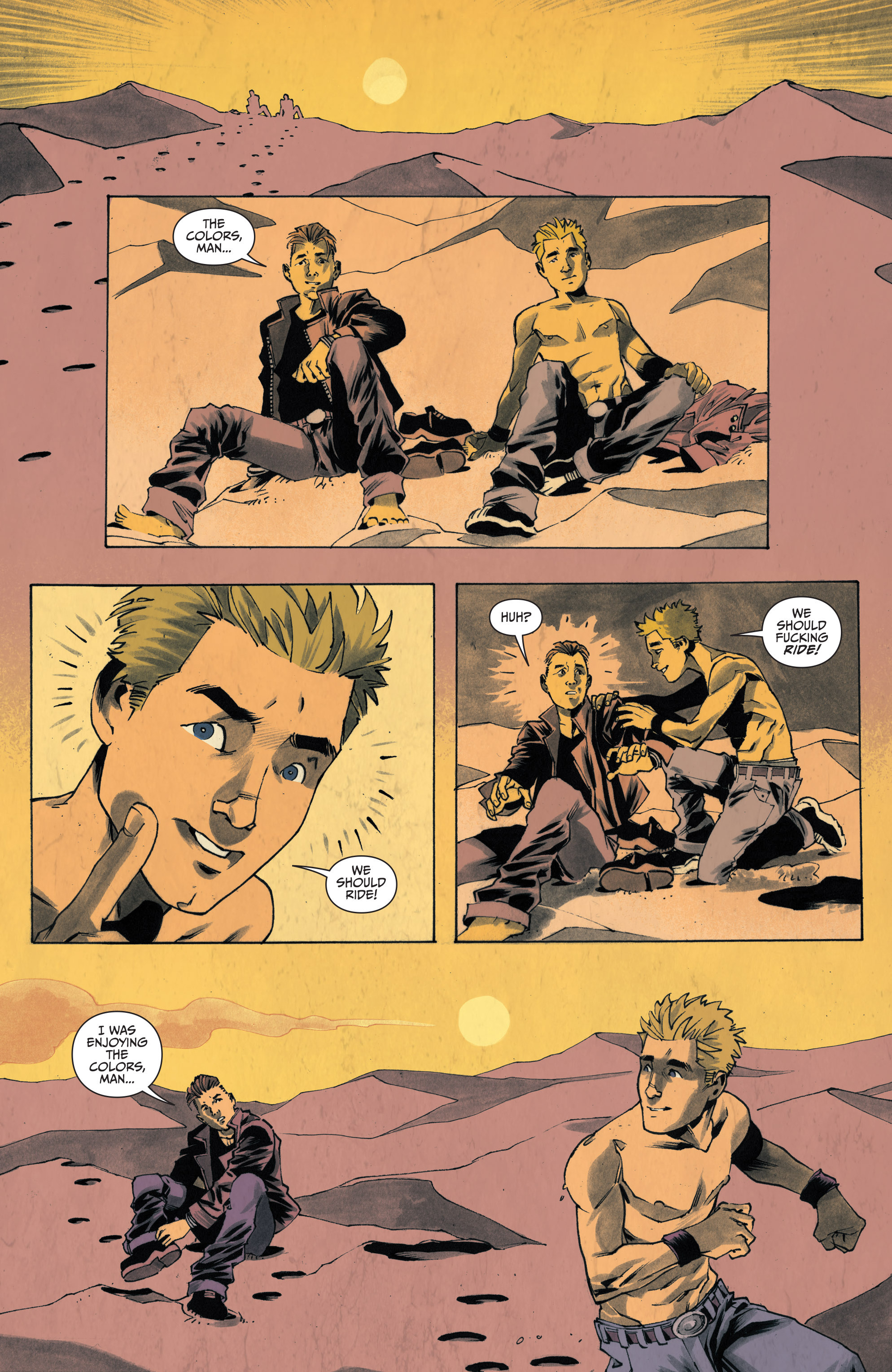 Read online Sons of Anarchy: Redwood Original comic -  Issue #4 - 9