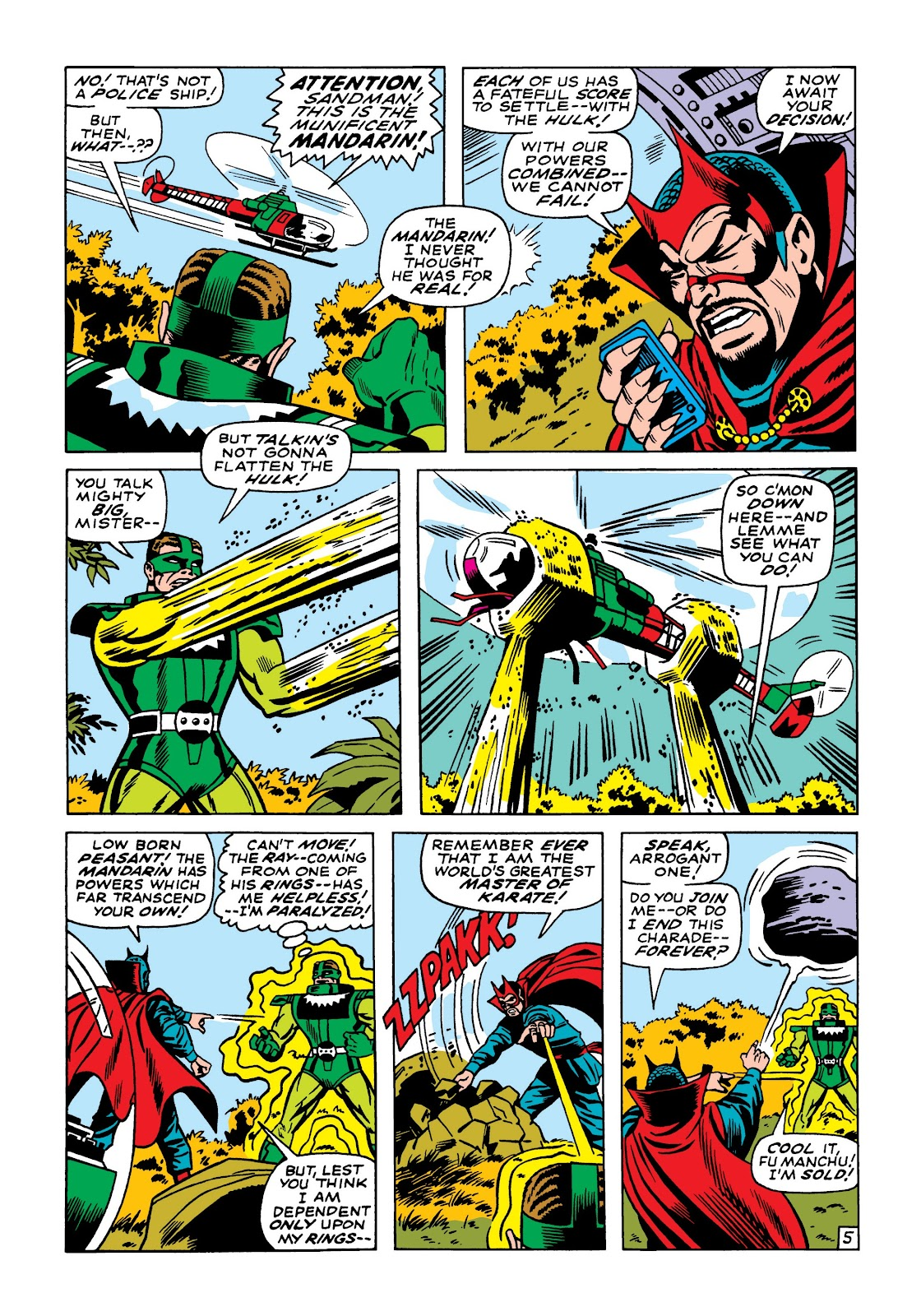 Read online Marvel Masterworks: The Incredible Hulk comic -  Issue # TPB 5 (Part 1) - 74