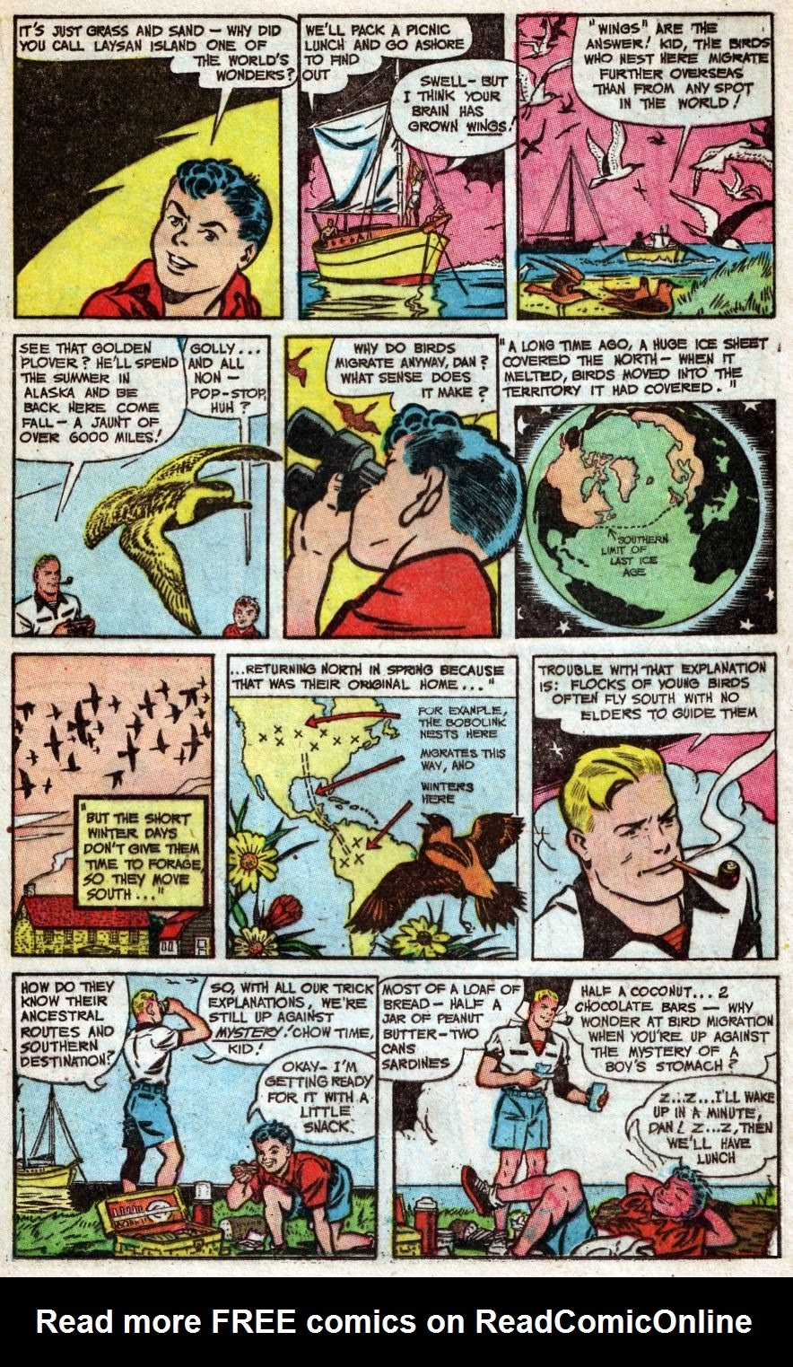 Read online Famous Funnies comic -  Issue #216 - 21