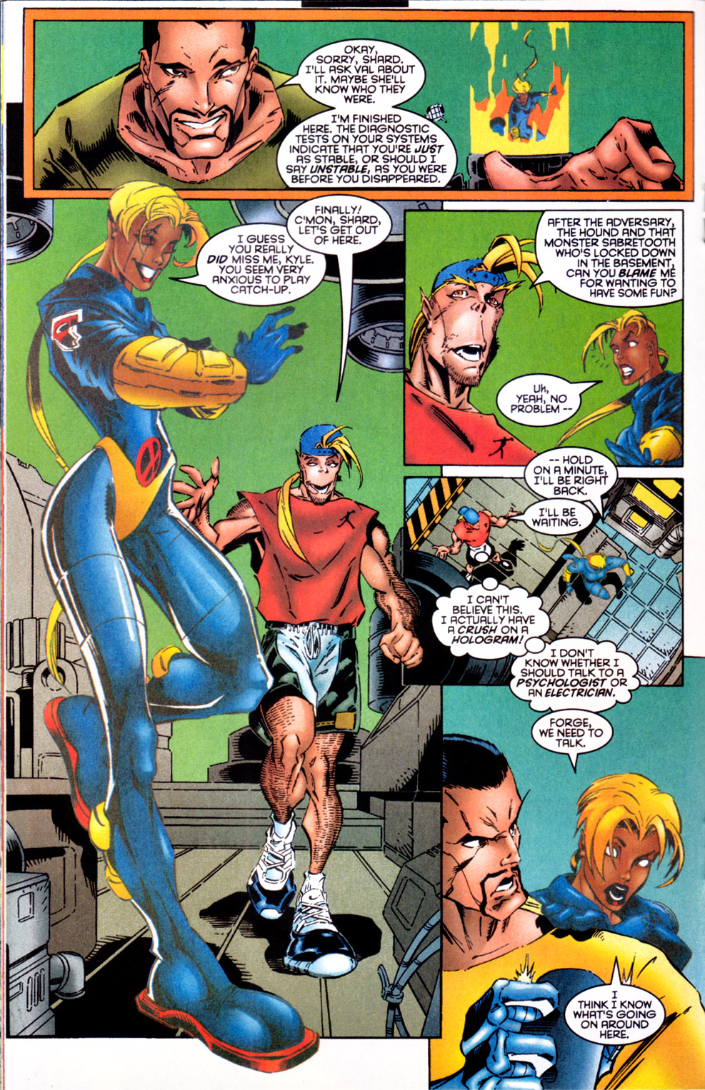 Read online X-Factor (1986) comic -  Issue #124 - 16