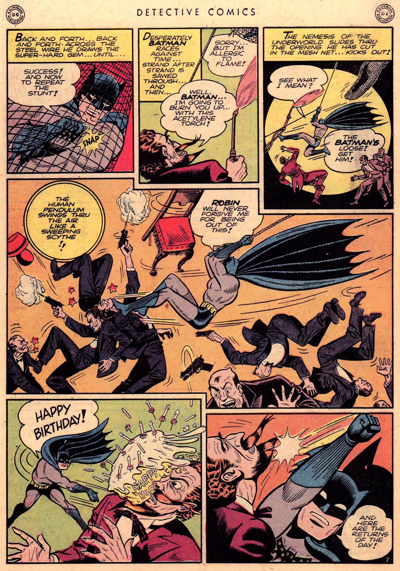 Read online Detective Comics (1937) comic -  Issue #95 - 9