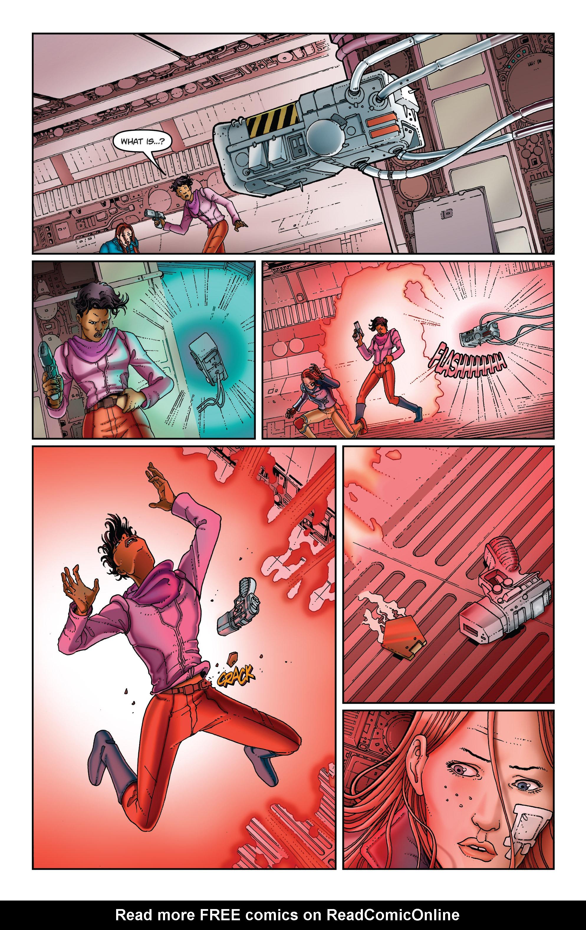 Read online Satellite Falling comic -  Issue #5 - 4
