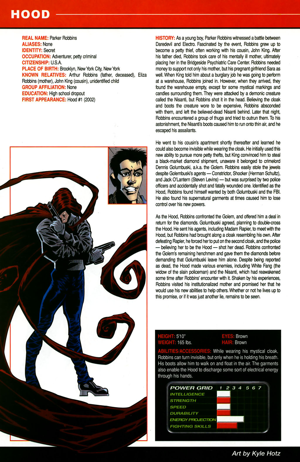 Read online All-New Official Handbook of the Marvel Universe A to Z comic -  Issue #5 - 30