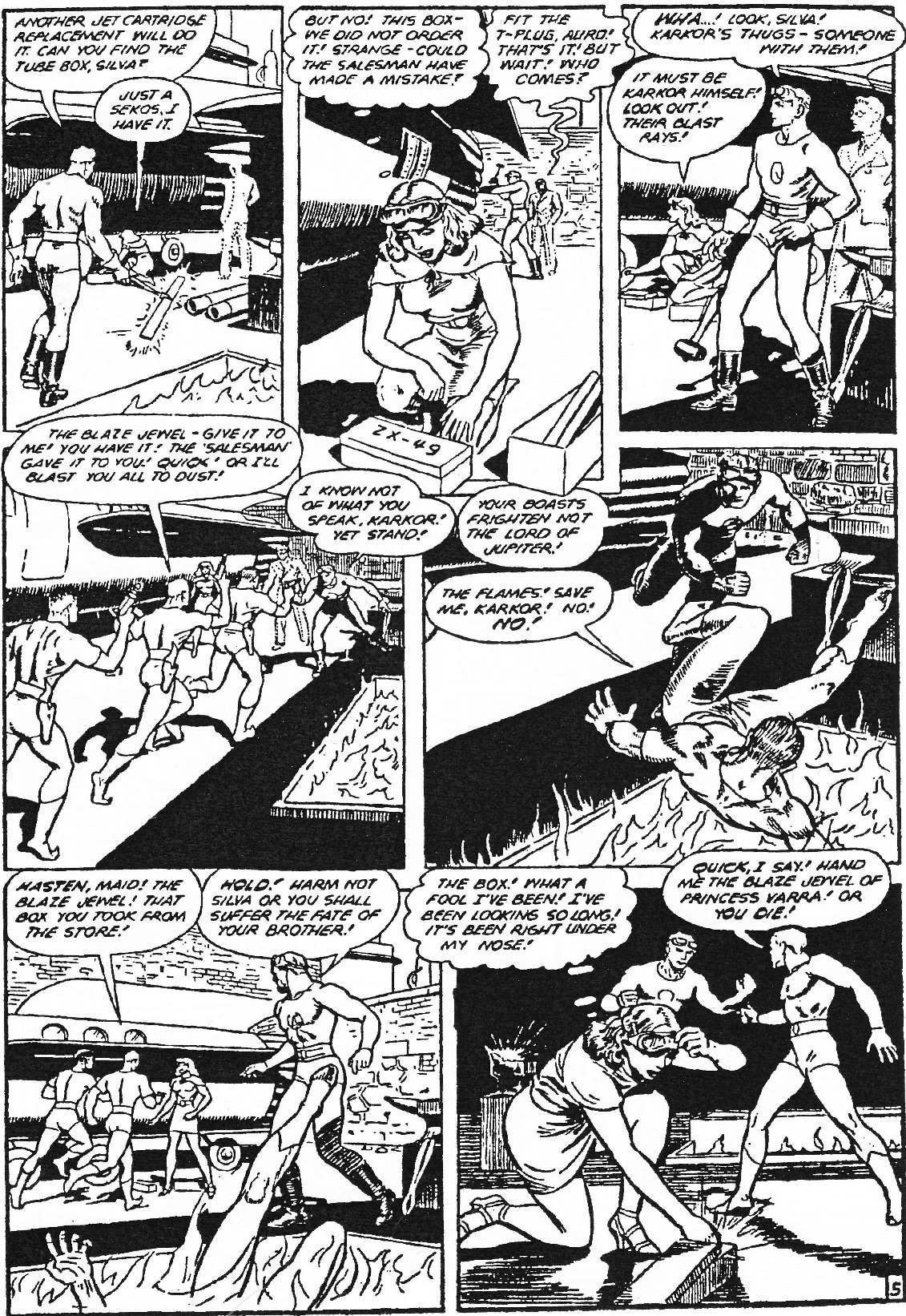 Read online Men of Mystery Comics comic -  Issue #84 - 167