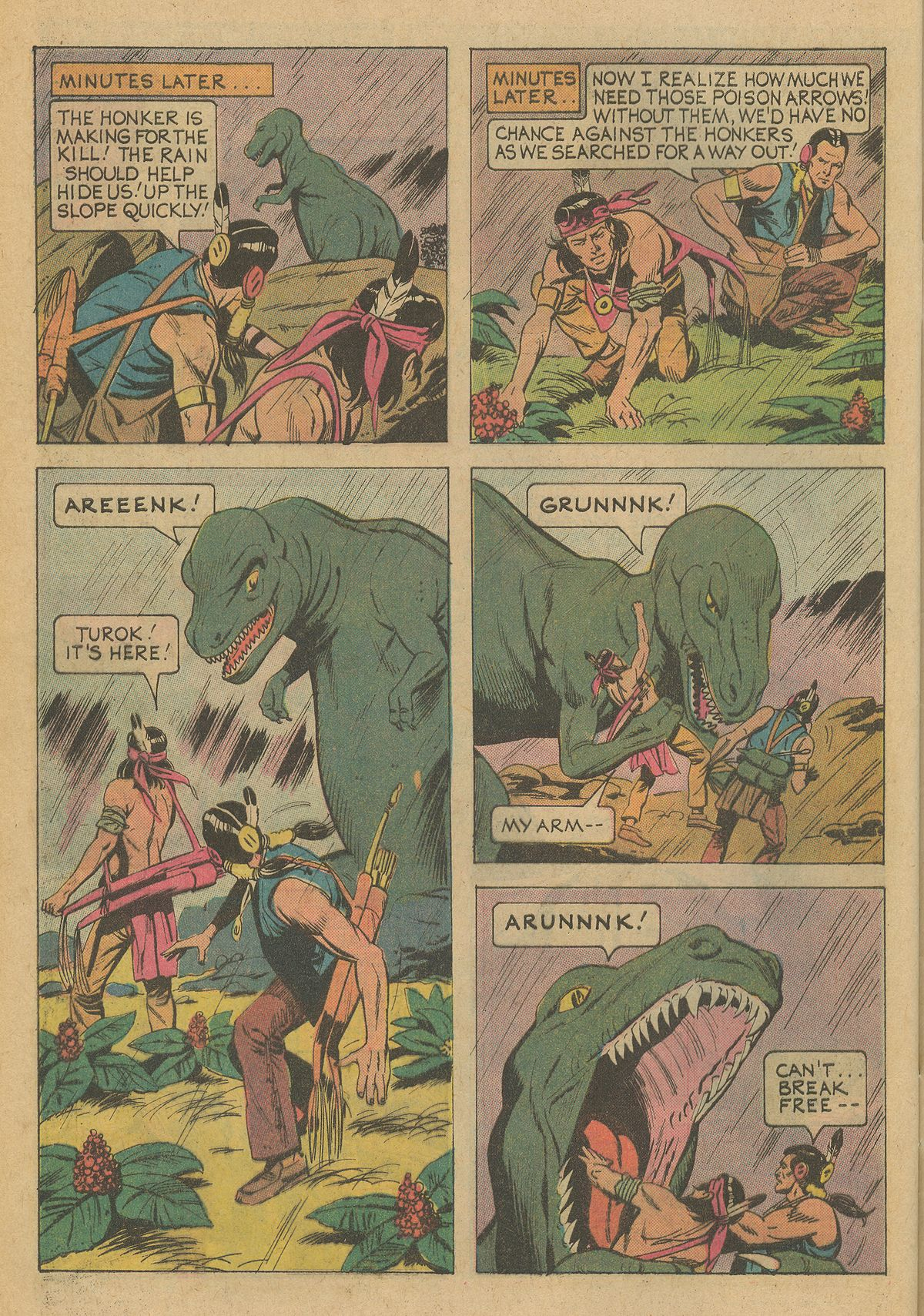Read online Turok, Son of Stone comic -  Issue #95 - 32