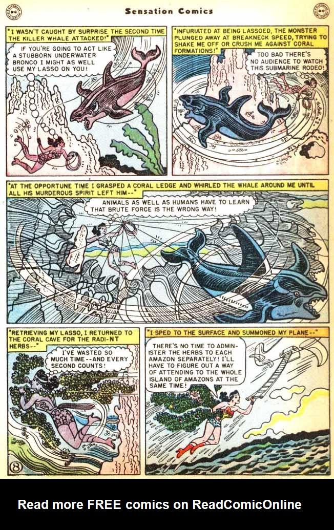 Read online Sensation (Mystery) Comics comic -  Issue #92 - 10