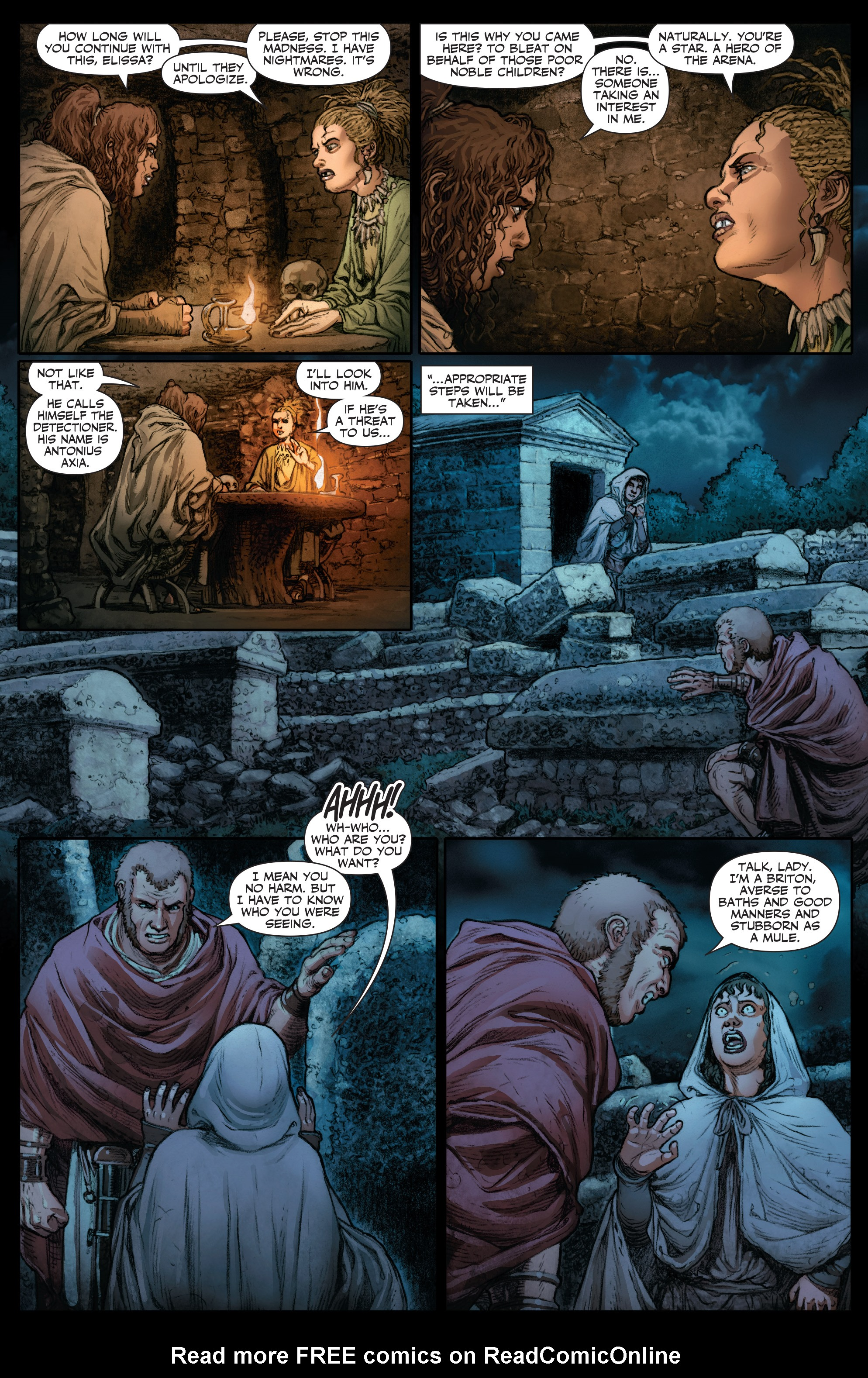 Read online Britannia: We Who Are About To Die comic -  Issue #2 - 13