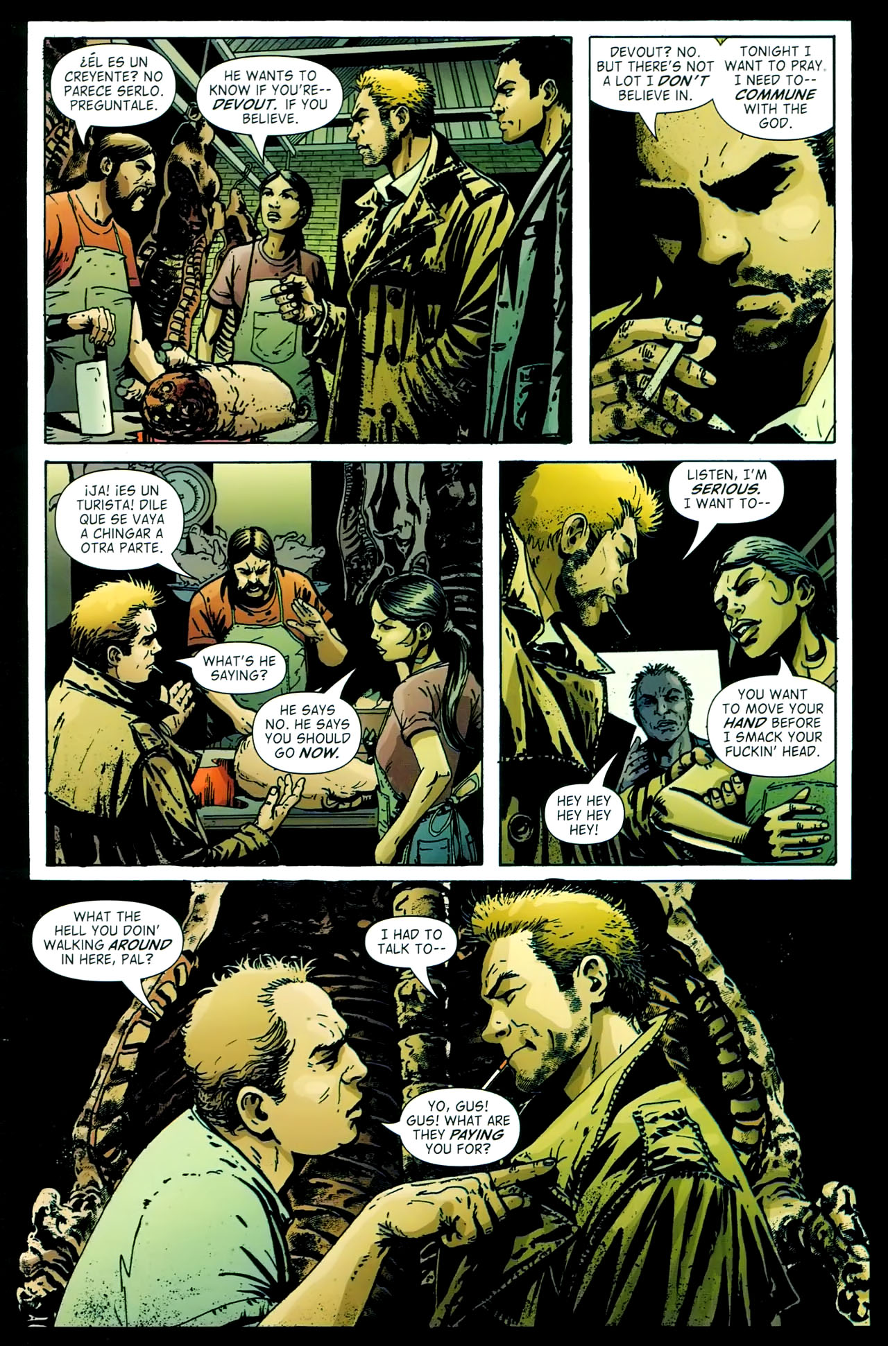 Read online John Constantine Hellblazer: All His Engines comic -  Issue # Full - 58
