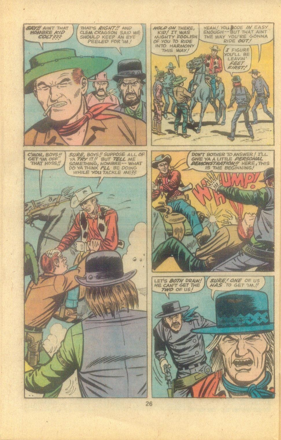 Kid Colt Outlaw issue 194 - Page 28