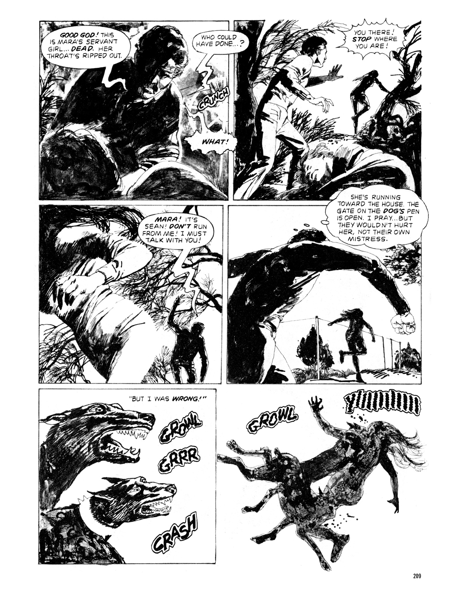 Read online Eerie Archives comic -  Issue # TPB 20 - 209